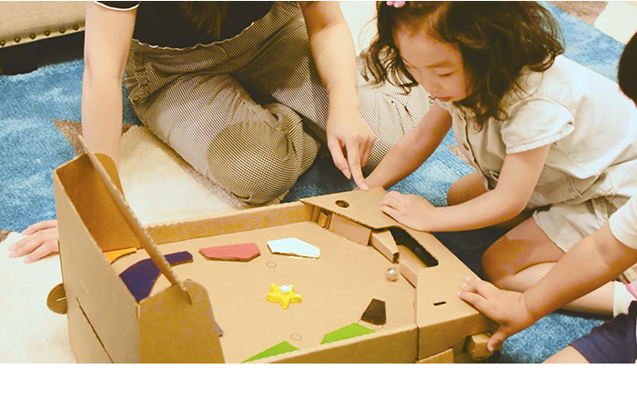 Customizable Cardboard Tabletop Pinball Game System.  DIY Kit Educational Build Design Play STEM Toy.