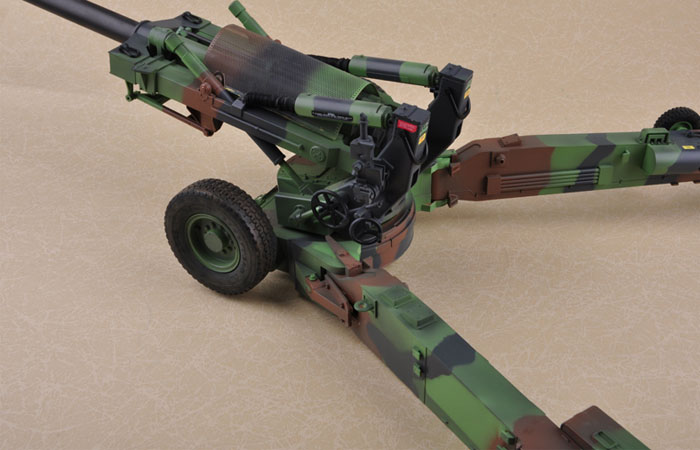 Merit International, 1/16 Scale US M198 155mm Towed Howitzer Finished model, Trumpeter OEM 68604  Model Kit Static Model
