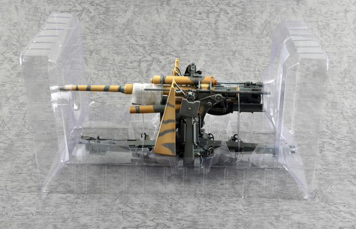 Merit Plastic Model kits JSI-60030, 1/18 Scale Finished WWII German Weapons Model Flak 36 88mm Anti-Aircraft Gun Static Model, World War II military model