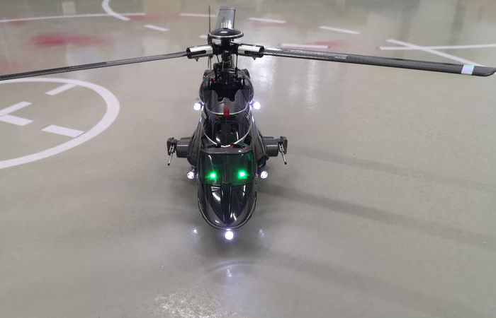Walkera Airwolf 200SD3 RC Helicopter With DEVO 7 TX, 3-Blades Flybarless 6-Channel 3-axis 2.4Ghz Mini RC Helicopter.