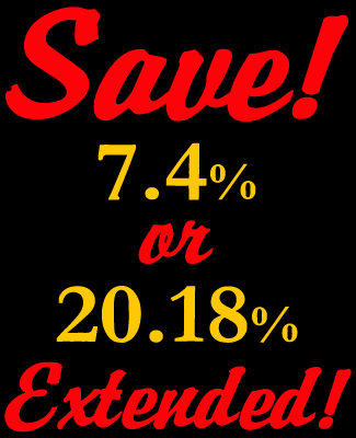 4th of July Savings Extended