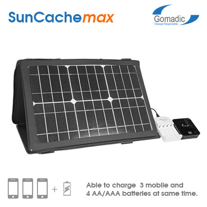 SunCacheMAX 15W Solar Charger