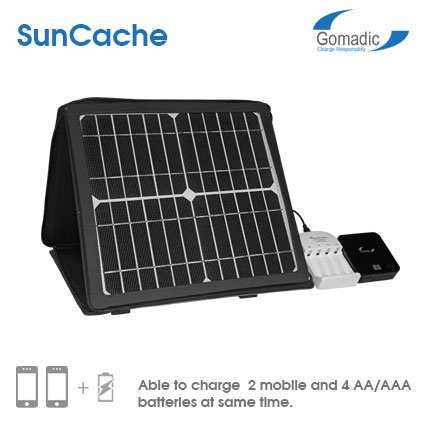 SunCache Portable 10W Solar Charger