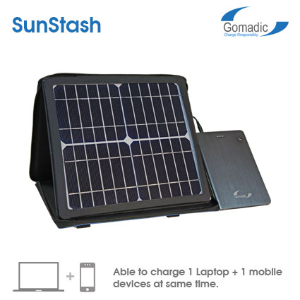 SunStash Portable 10W Solar Charger