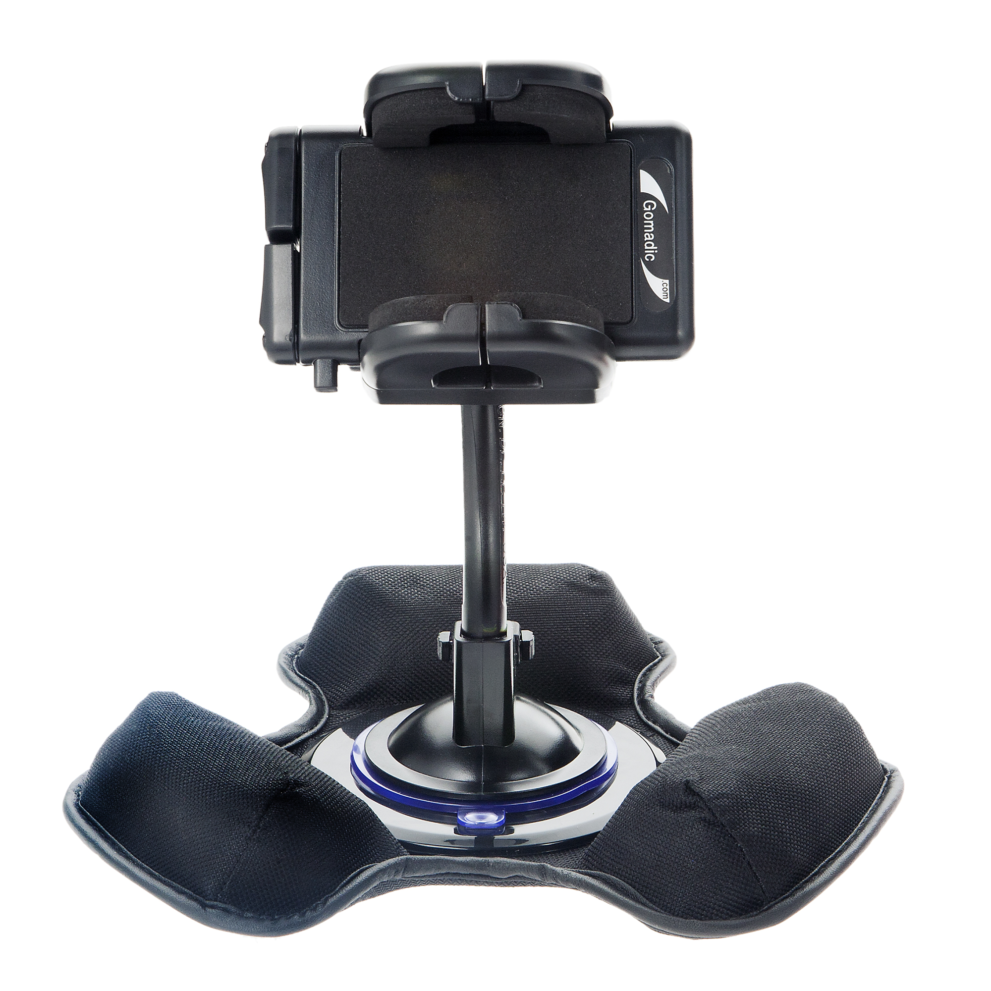Car / Truck Vehicle Holder Mounting System for LG C660 Includes Unique Flexible Windshield Suction and Universal Dashboard Mount Options