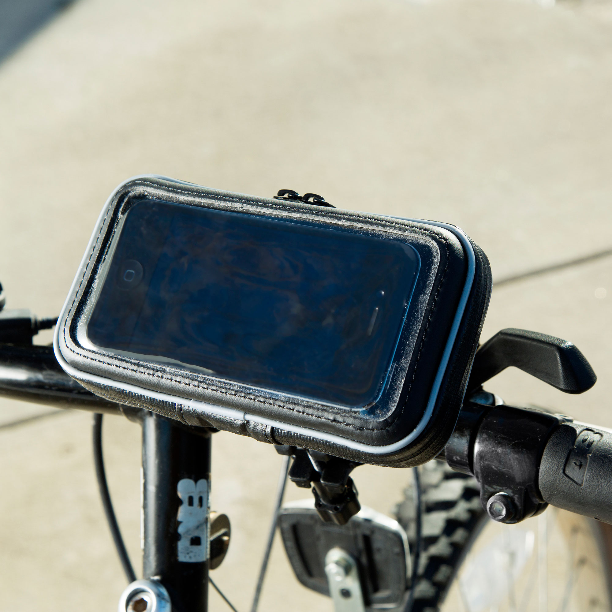 Heavy Duty Weather Resistant Bicycle / Motorcycle Handlebar Mount Holder Designed for the LG C660