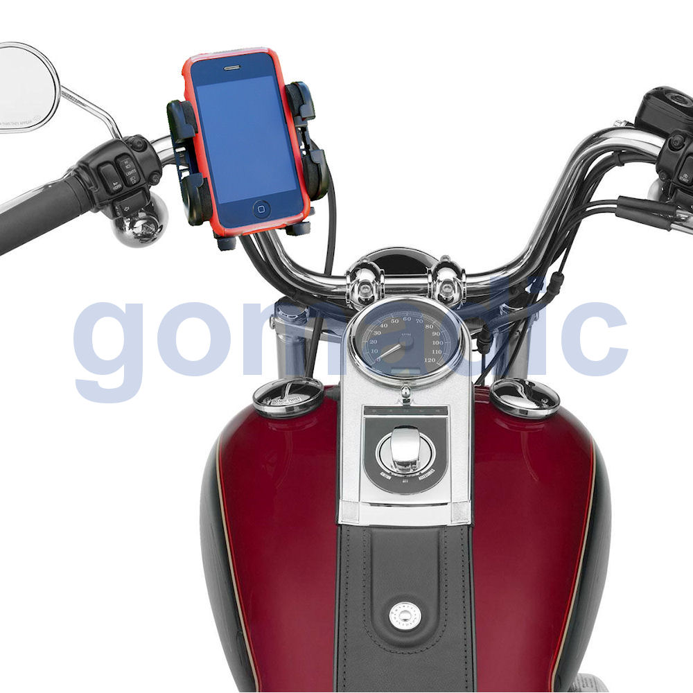 Gomadic Bike Handlebar Holder Mount System suitable for the Samsung Galaxy Note 3 / Note III - Unique Holder; Lifetime Warranty