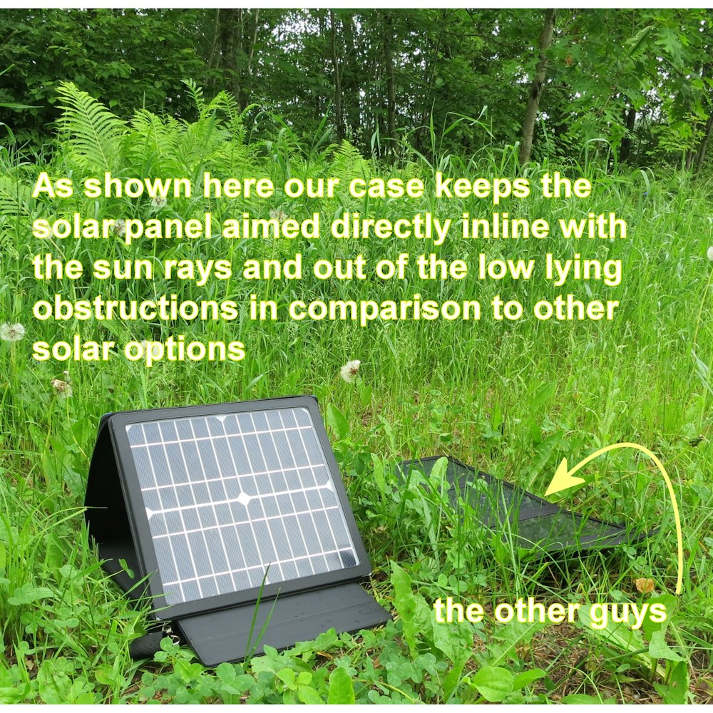 Gomadic SunVolt High Output Portable Solar Power Station designed for the HTC 6700Q Qwest - Can charge multiple devices with outlet speeds