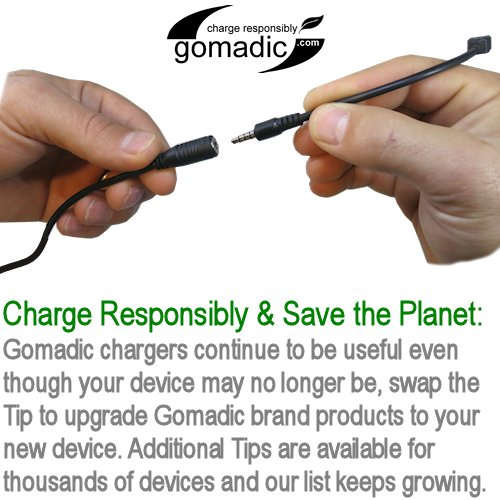 Portable Emergency AA Battery Charger Extender suitable for the Garmin StreetPilot C340 - with Gomadic Brand TipExchange Technology