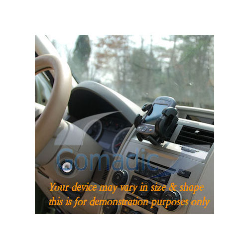 Gomadic Air Vent Clip Based Cradle Holder Car / Auto Mount suitable for the PURE One Mi Series 2 - Lifetime Warranty