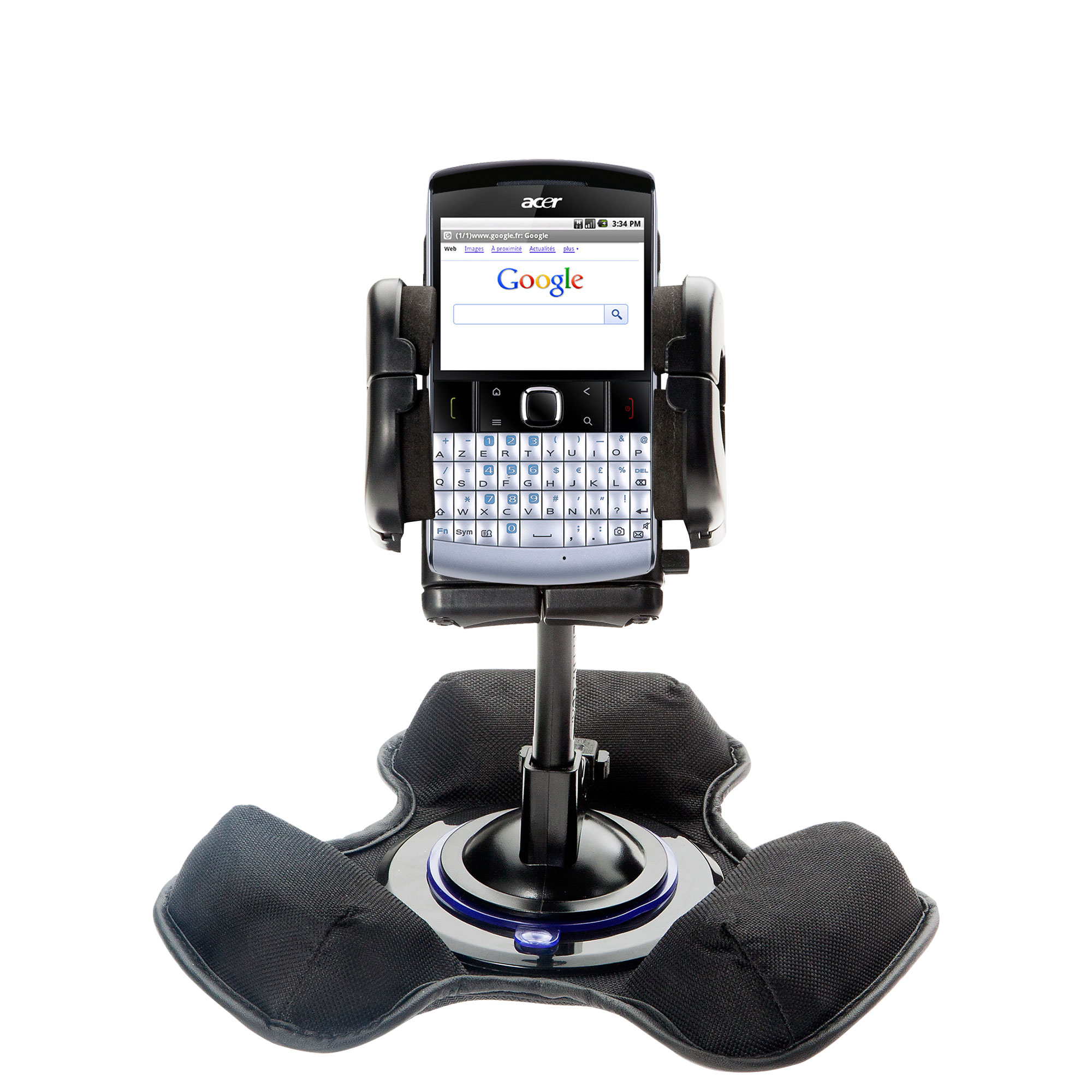 Dash and Windshield Holder compatible with the Acer beTouch E200 E210