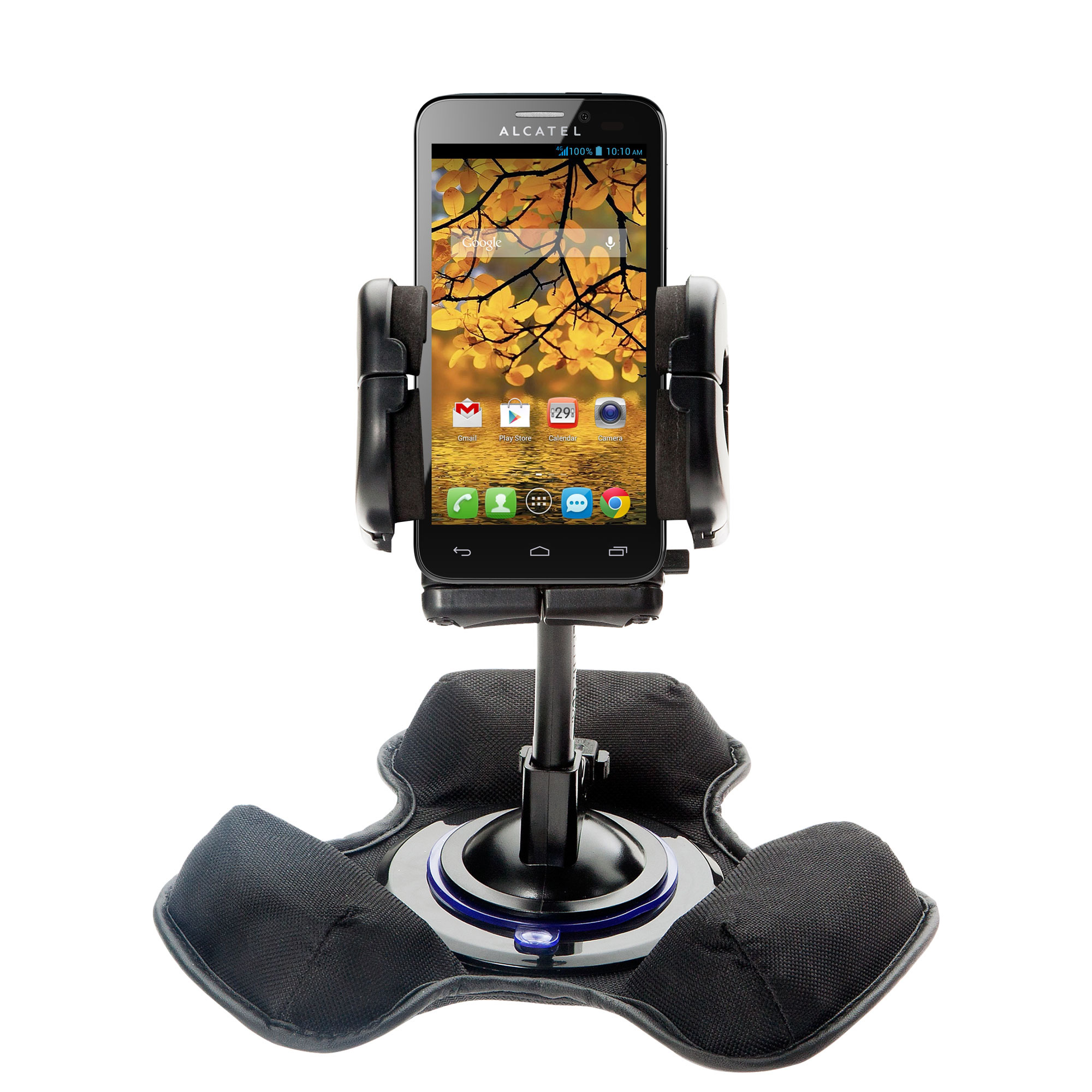 Dash and Windshield Holder compatible with the Alcatel One Touch Fierce