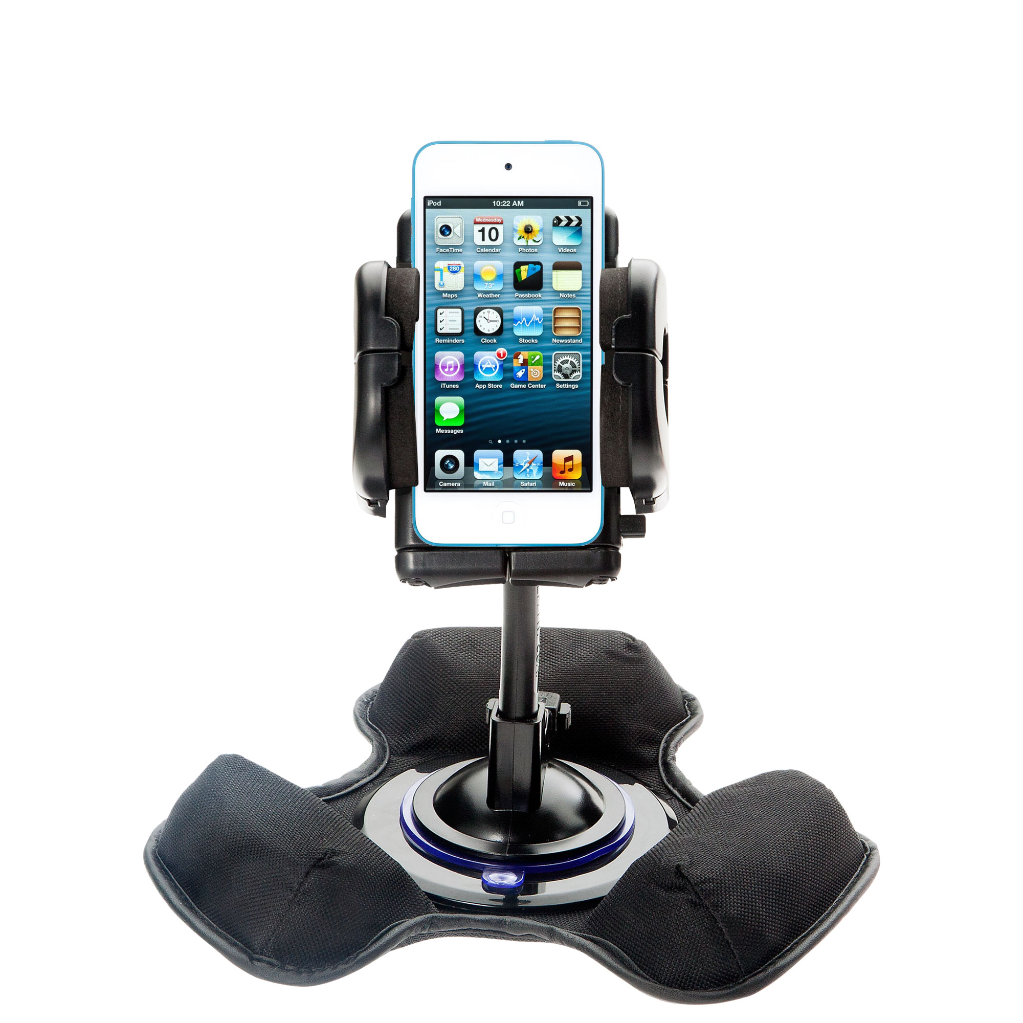 Dash and Windshield Holder compatible with the Apple iPod touch