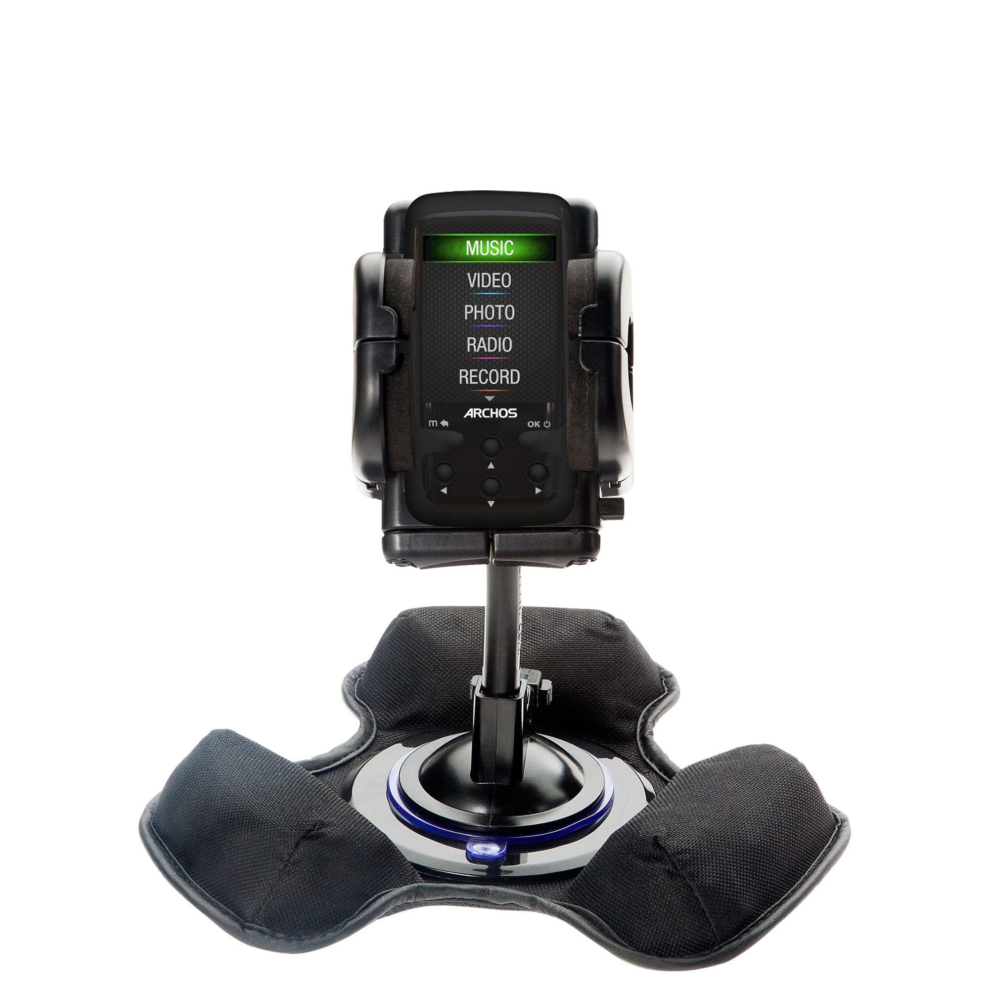 Dash and Windshield Holder compatible with the Archos 24 Vision AV24VB