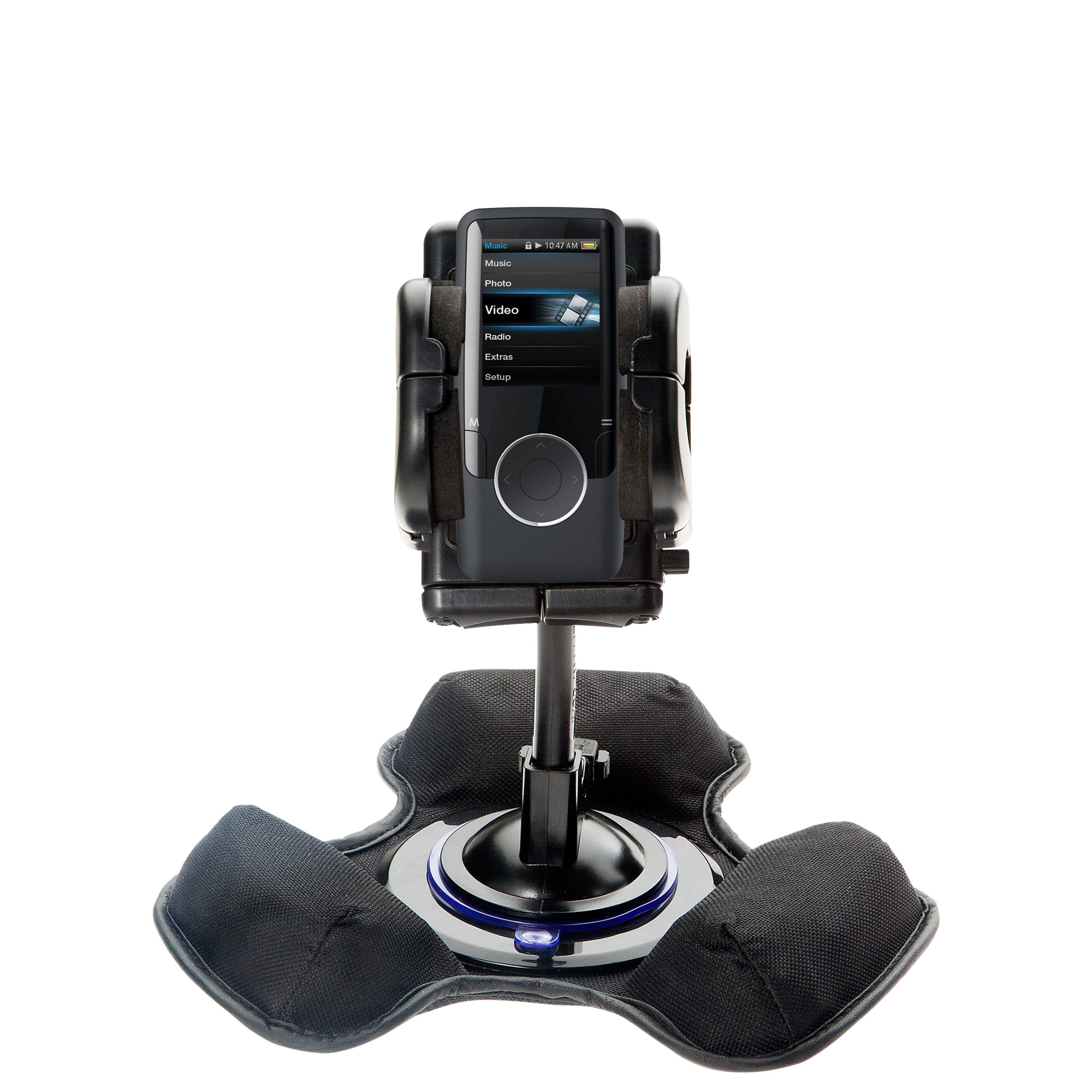 Dash and Windshield Holder compatible with the Coby MP620 Video MP3 Player