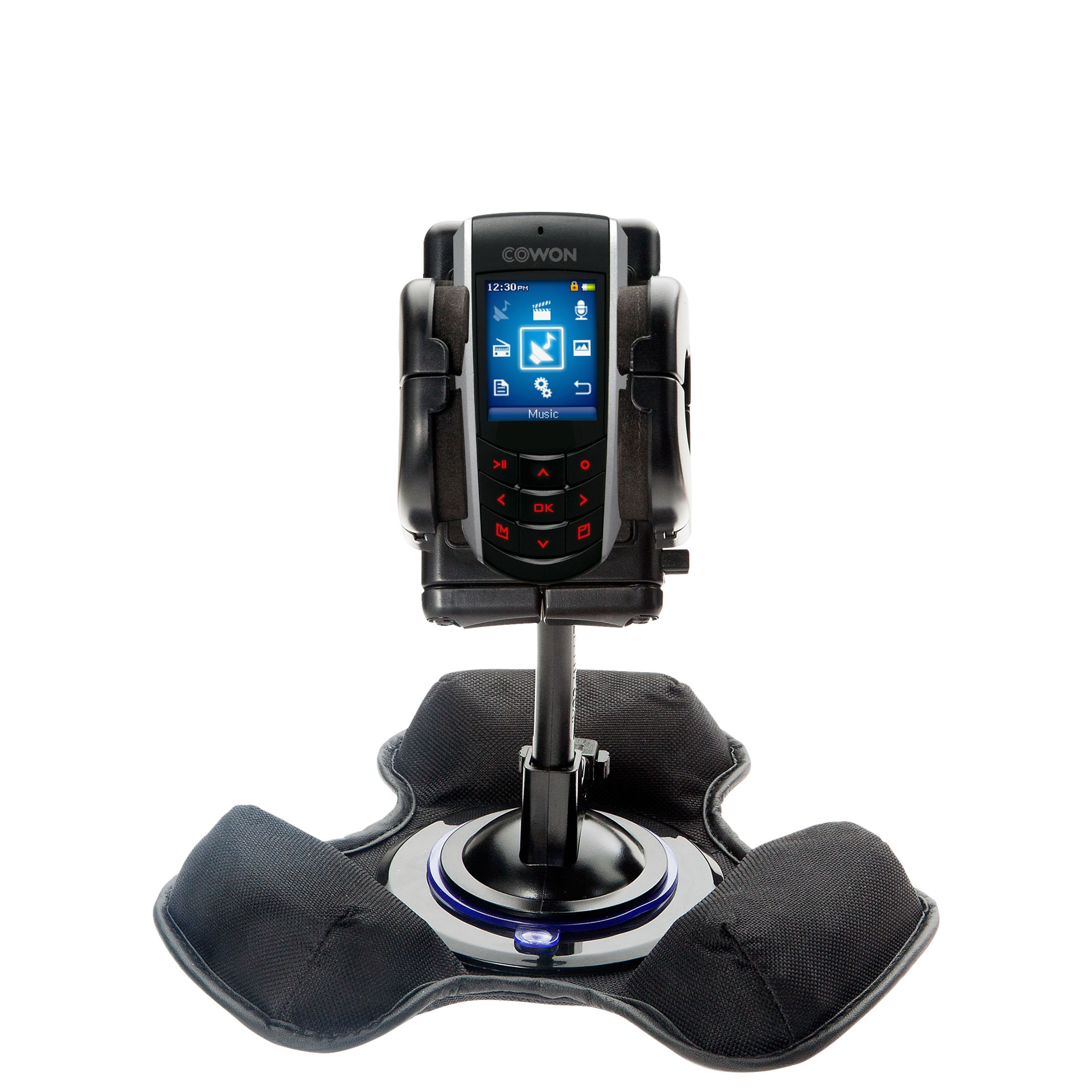 Dash and Windshield Holder compatible with the Cowon iAudio F2