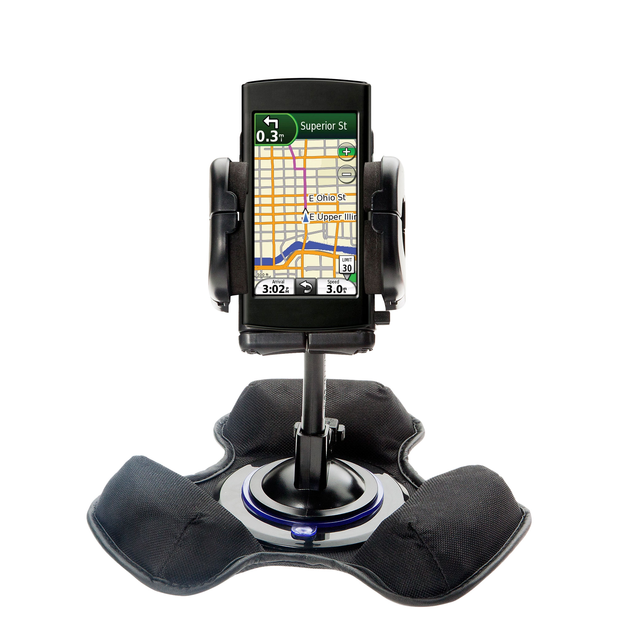 Dash and Windshield Holder compatible with the Garmin 295W