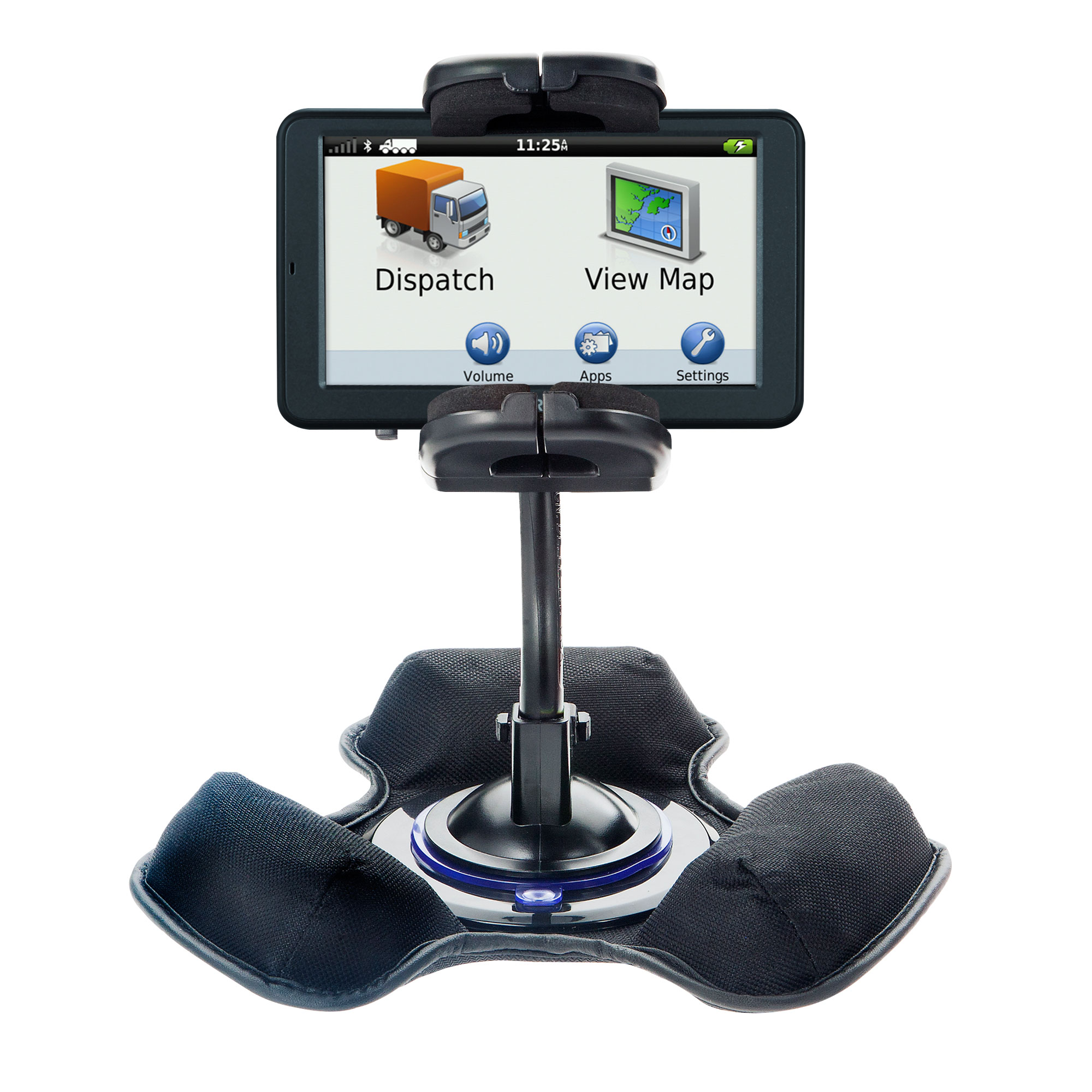 Dash and Windshield Holder compatible with the Garmin dezl 560 560LT 560LMT