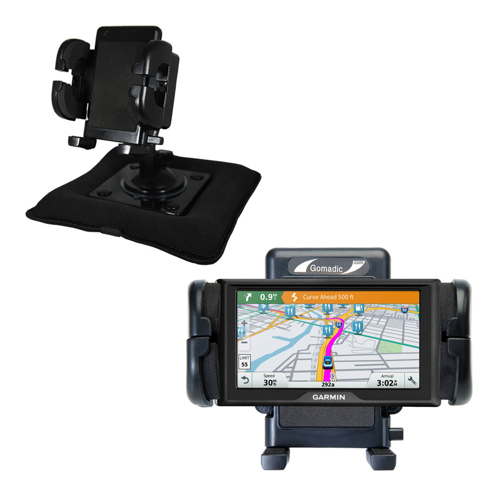 Dash and Windshield Holder compatible with the Garmin Drive 60LMT / 60LM