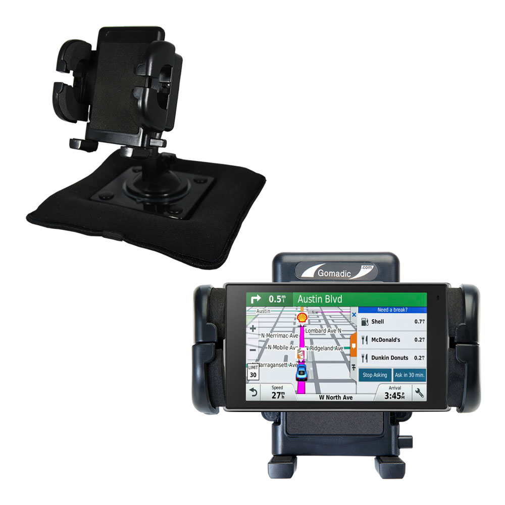 Dash and Windshield Holder compatible with the Garmin DriveLuxe 50LMTHD