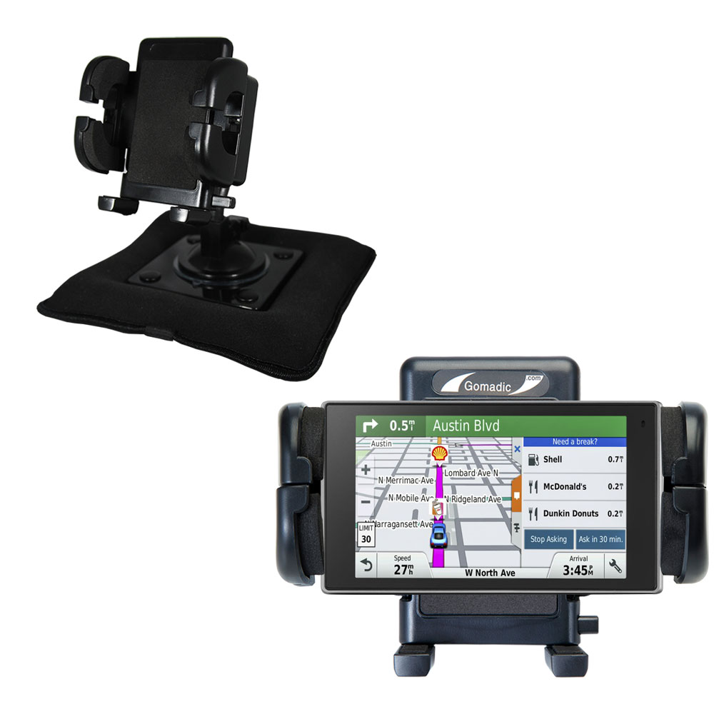 Dash and Windshield Holder compatible with the Garmin DriveSmart 50LMTHD