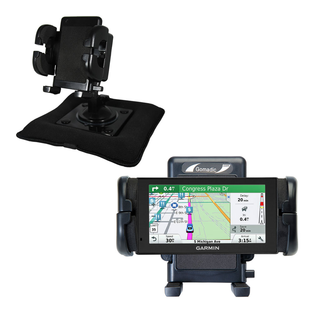 Dash and Windshield Holder compatible with the Garmin DriveSmart 60LMT