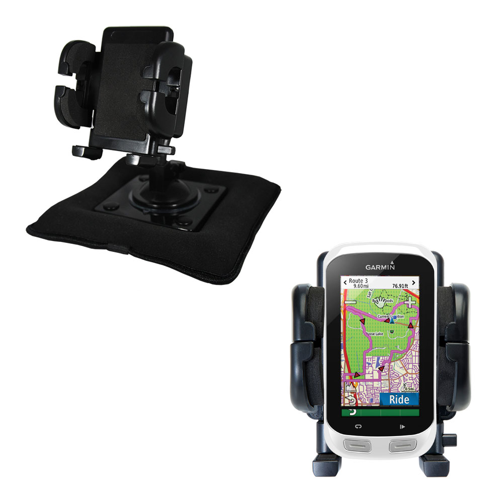 Dash and Windshield Holder compatible with the Garmin EDGE Explorer 1000