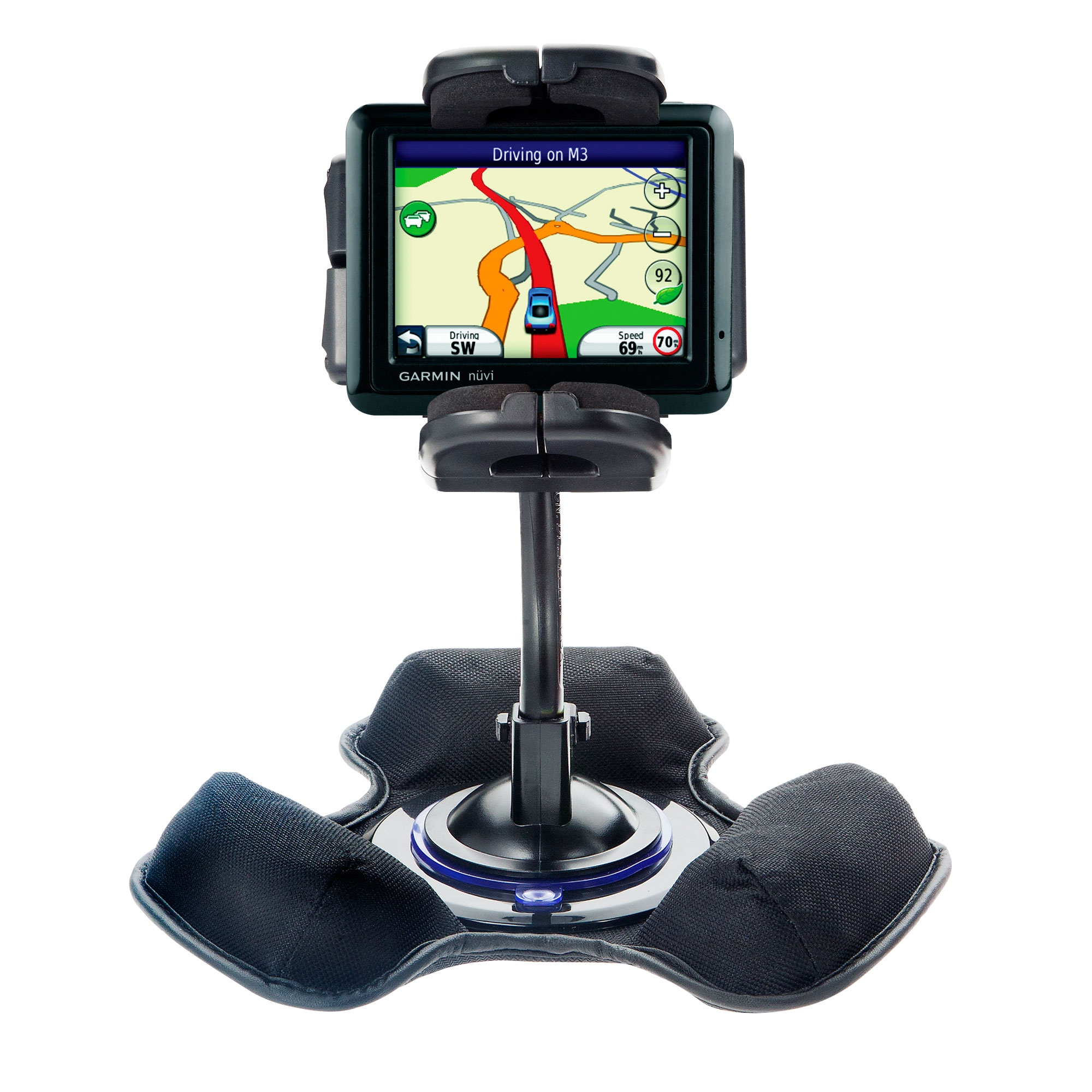 Dash and Windshield Holder compatible with the Garmin Nuvi 1210