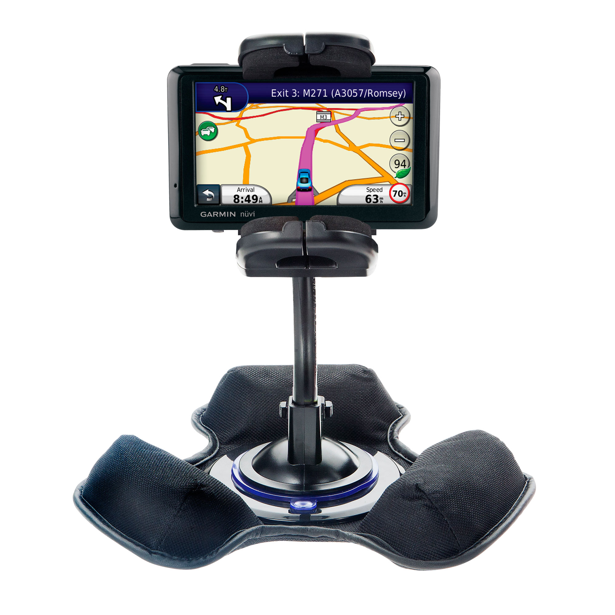Dash and Windshield Holder compatible with the Garmin Nuvi 1310