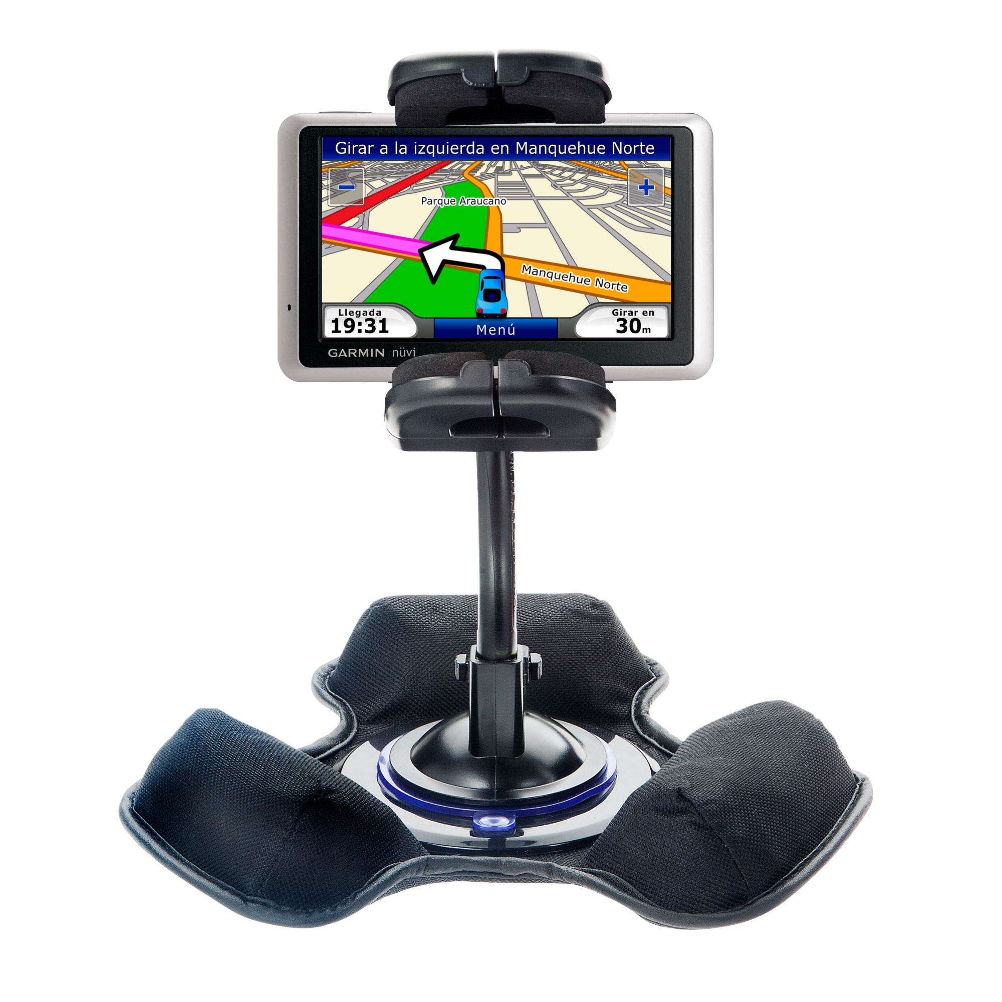 Dash and Windshield Holder compatible with the Garmin Nuvi 1370T