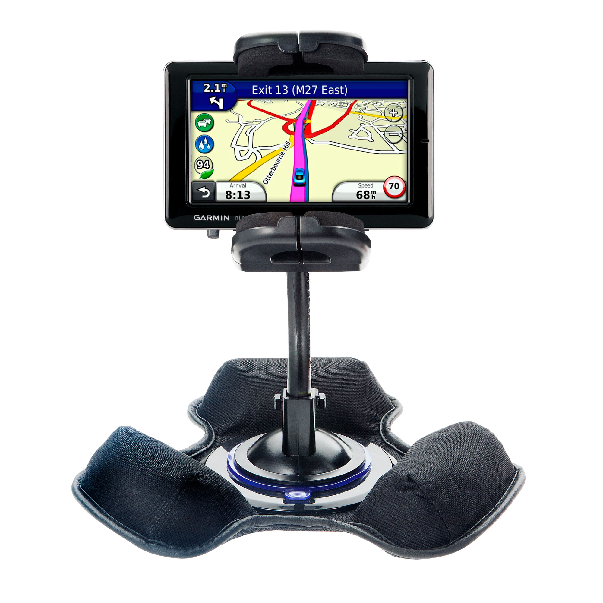 Dash and Windshield Holder compatible with the Garmin Nuvi 1695