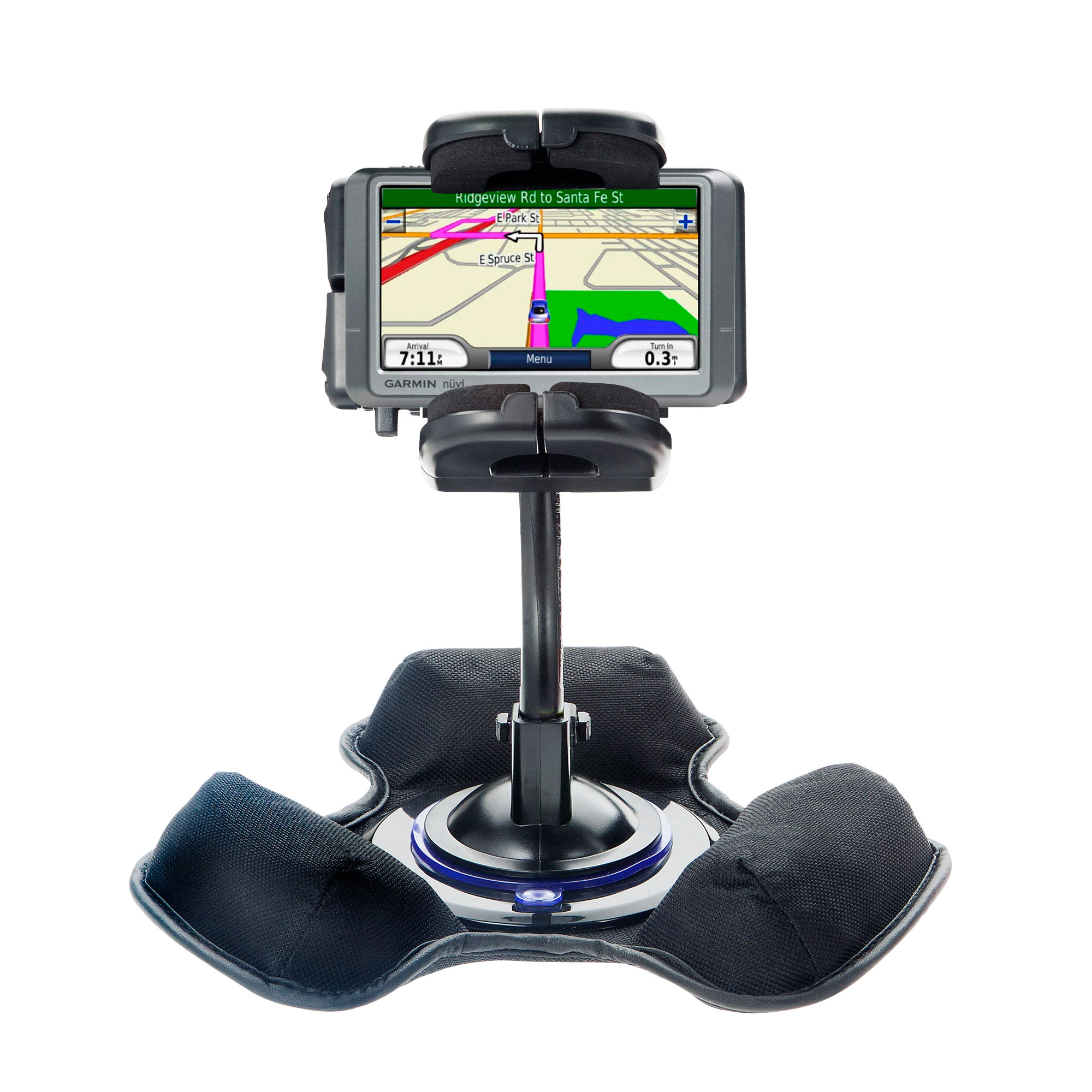 Dash and Windshield Holder compatible with the Garmin Nuvi 200 200W-