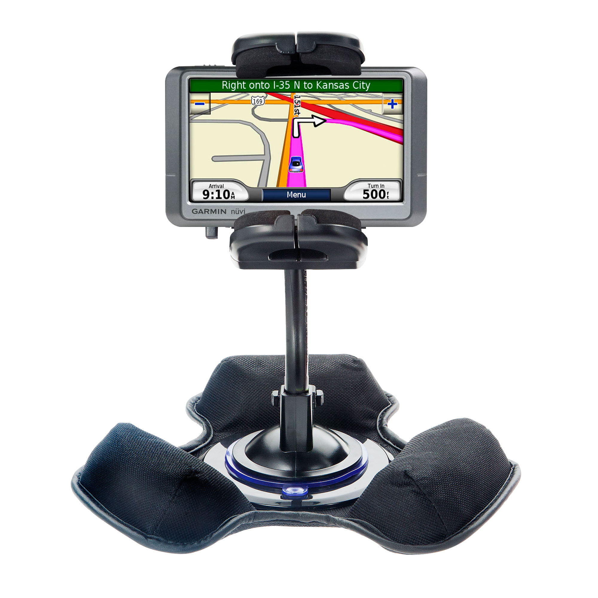 Dash and Windshield Holder compatible with the Garmin Nuvi 200W