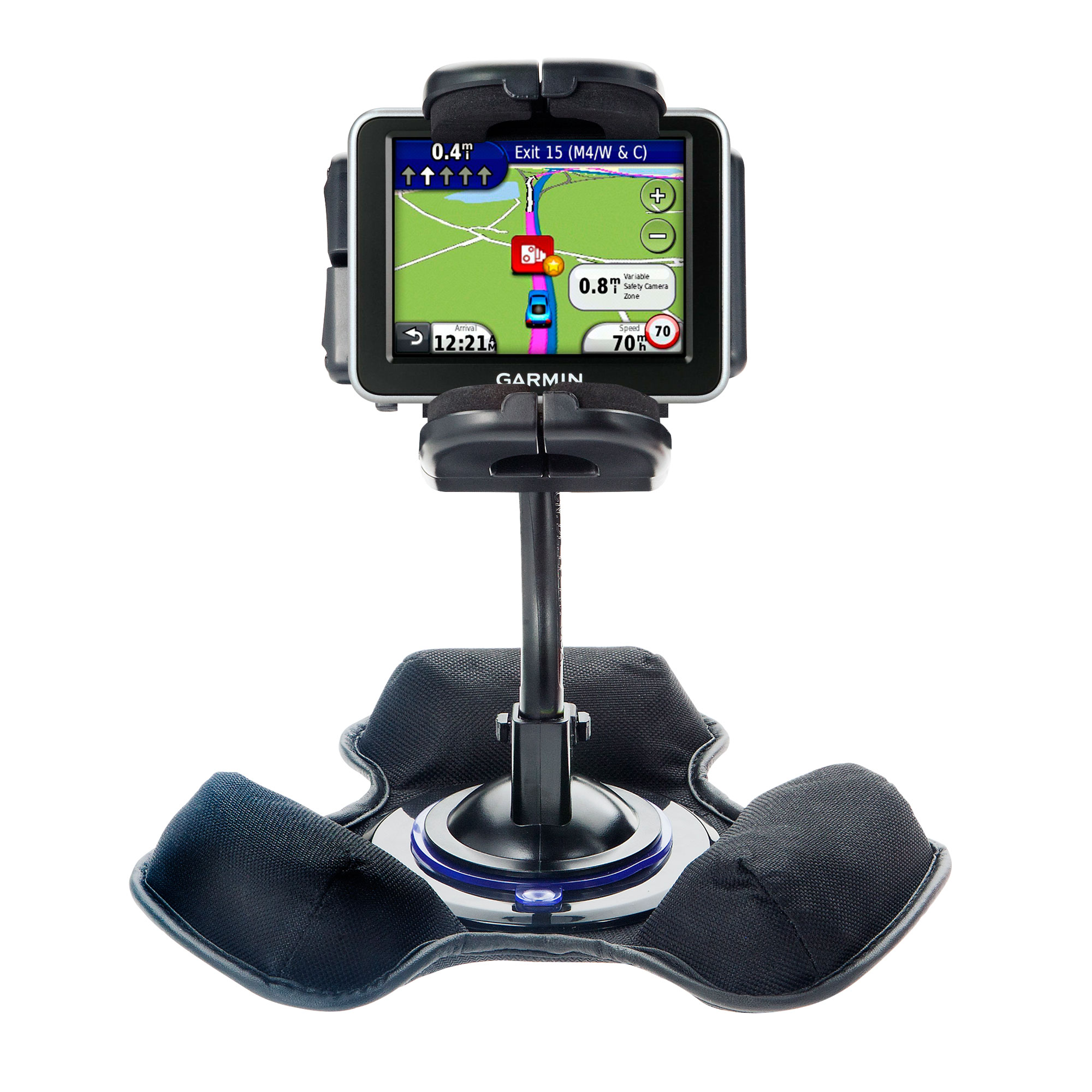 Dash and Windshield Holder compatible with the Garmin Nuvi 2200 2240 2250