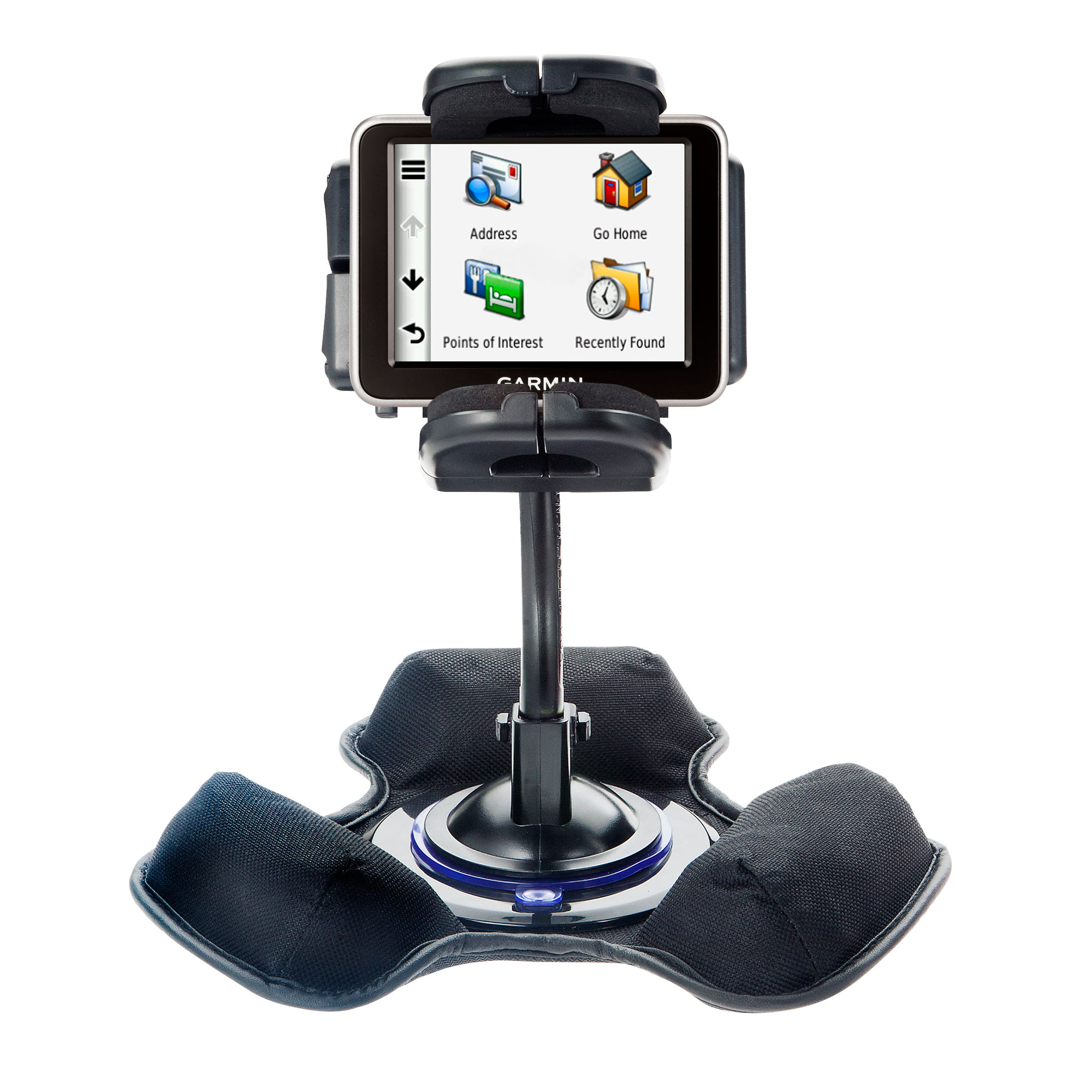 Dash and Windshield Holder compatible with the Garmin Nuvi 2250