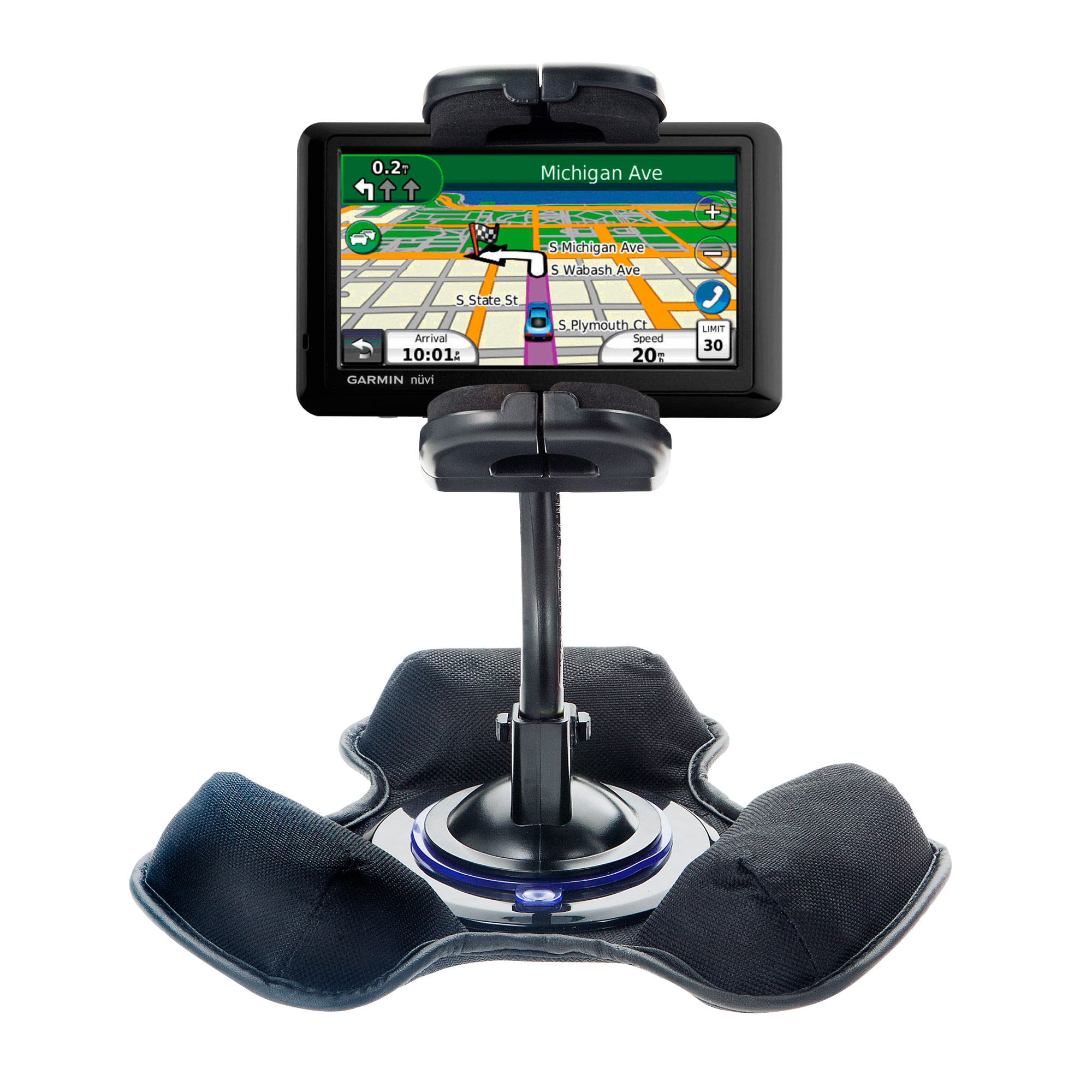 Dash and Windshield Holder compatible with the Garmin Nuvi 2300 2310