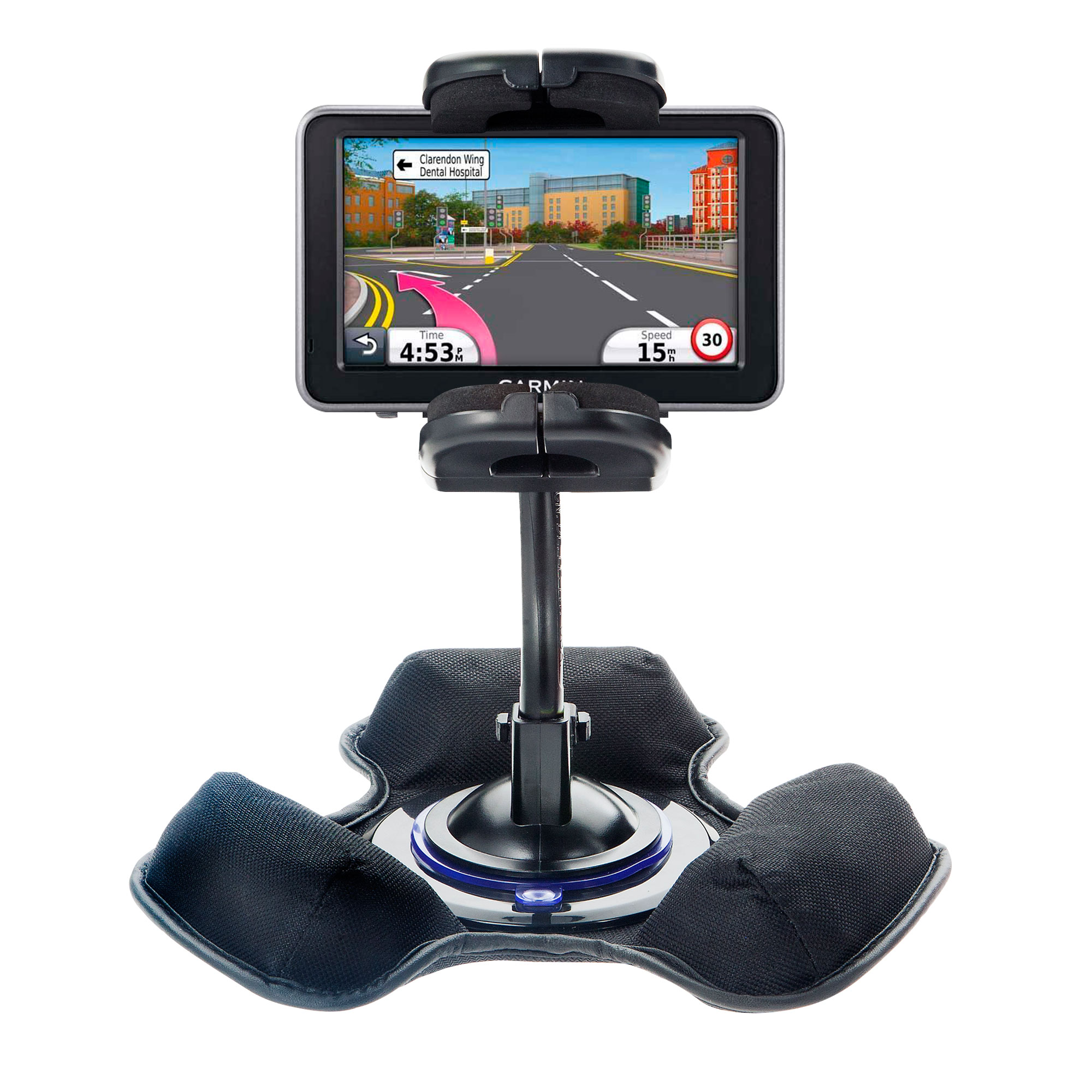 Dash and Windshield Holder compatible with the Garmin Nuvi 2310