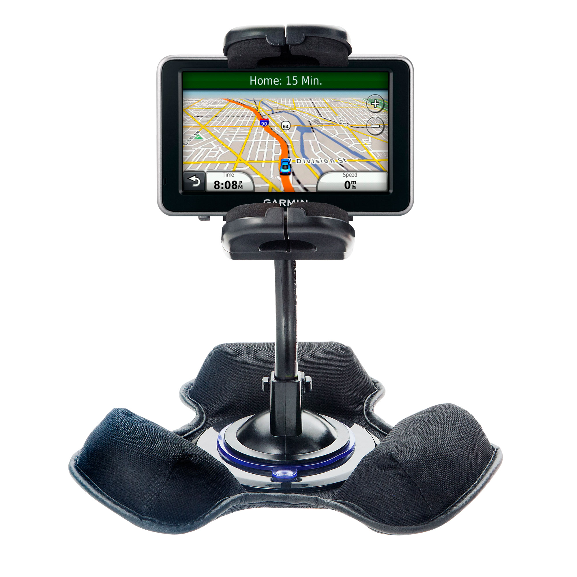 Dash and Windshield Holder compatible with the Garmin Nuvi 2340 2350 2360 2360LMT 2370 2370LT
