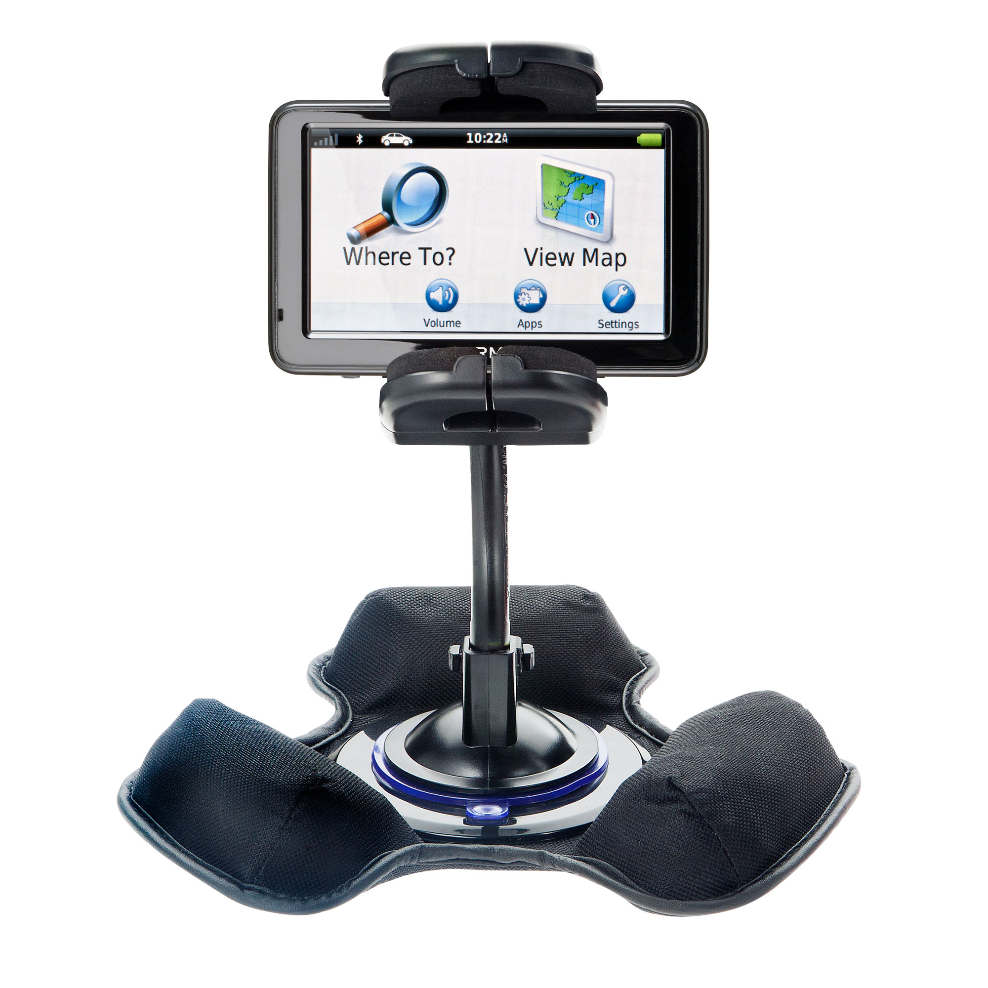 Dash and Windshield Holder compatible with the Garmin Nuvi 2455 2475LT 2495LMT 2455LMT