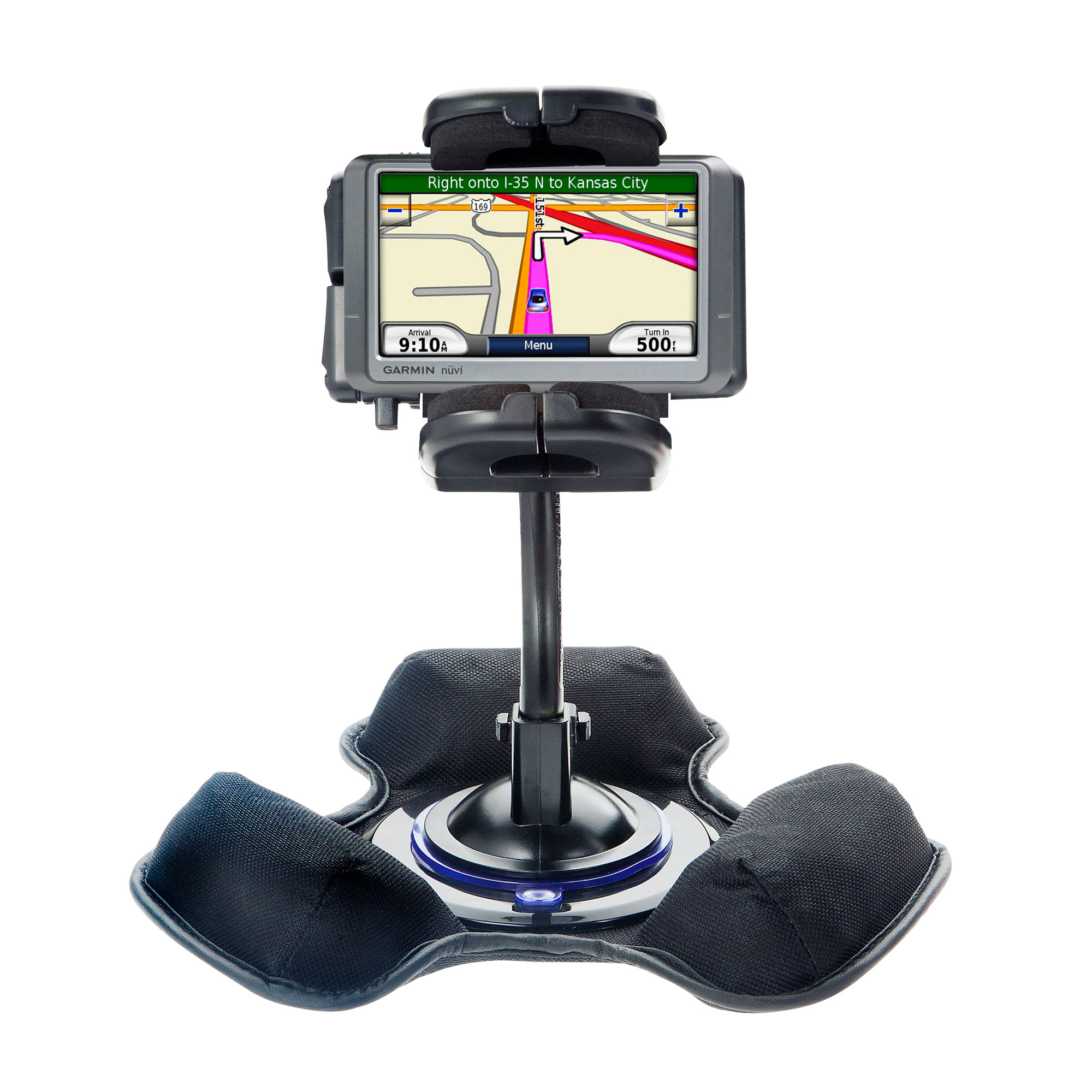 Dash and Windshield Holder compatible with the Garmin nuvi 250W