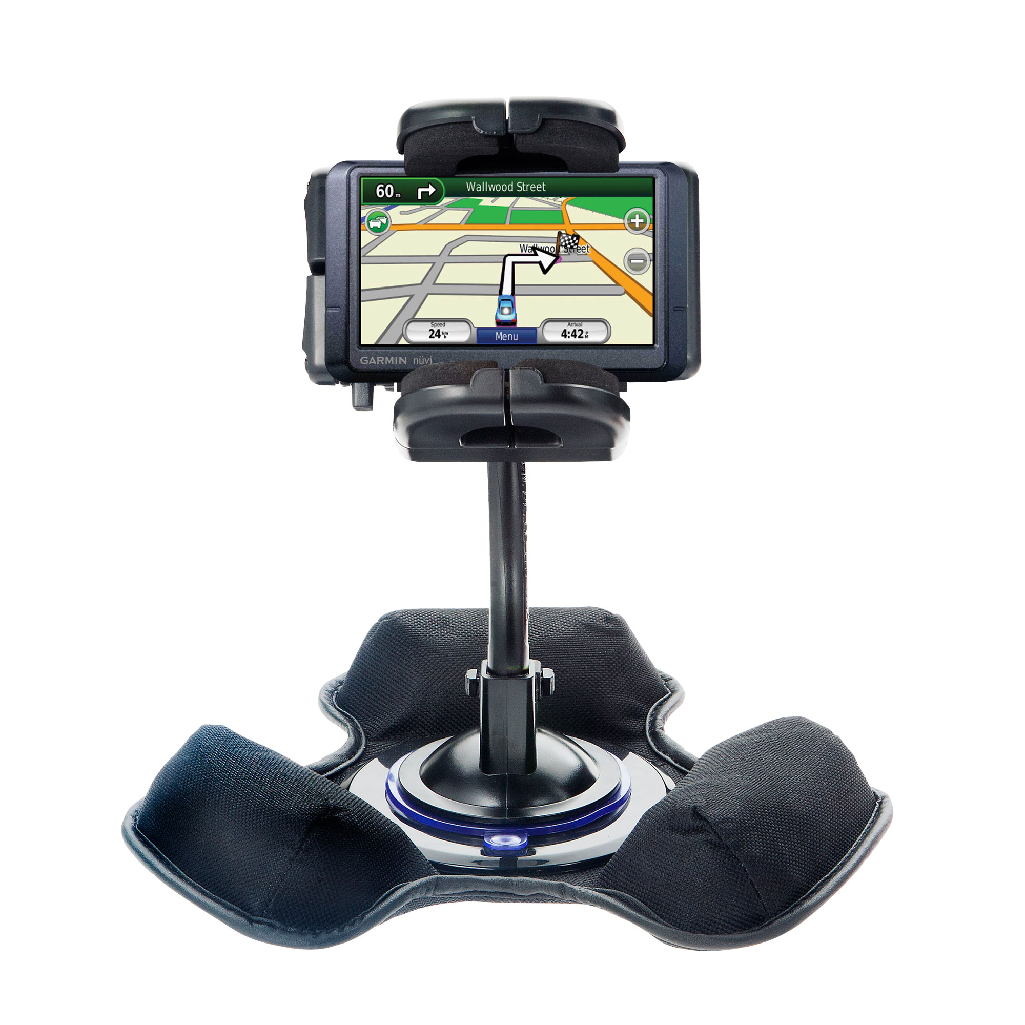 Dash and Windshield Holder compatible with the Garmin Nuvi 255