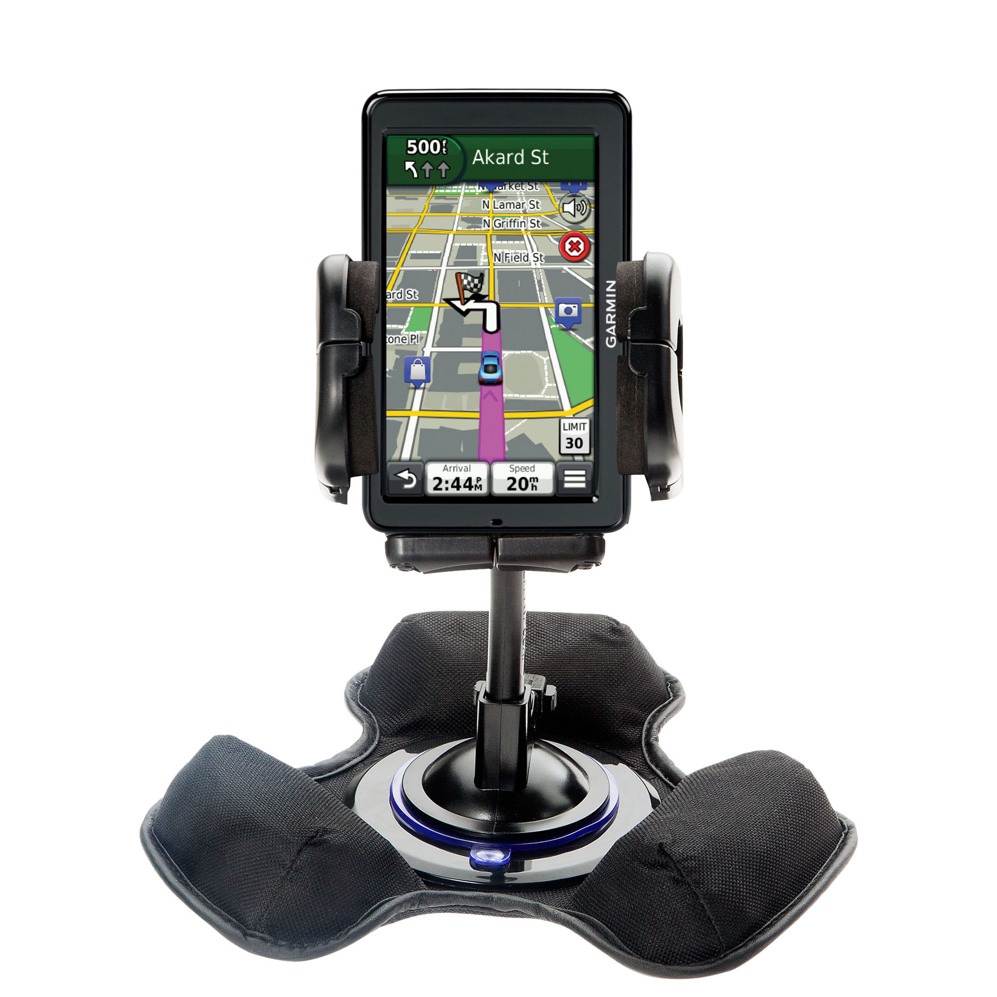 Dash and Windshield Holder compatible with the Garmin Nuvi 2555 2595 LMT