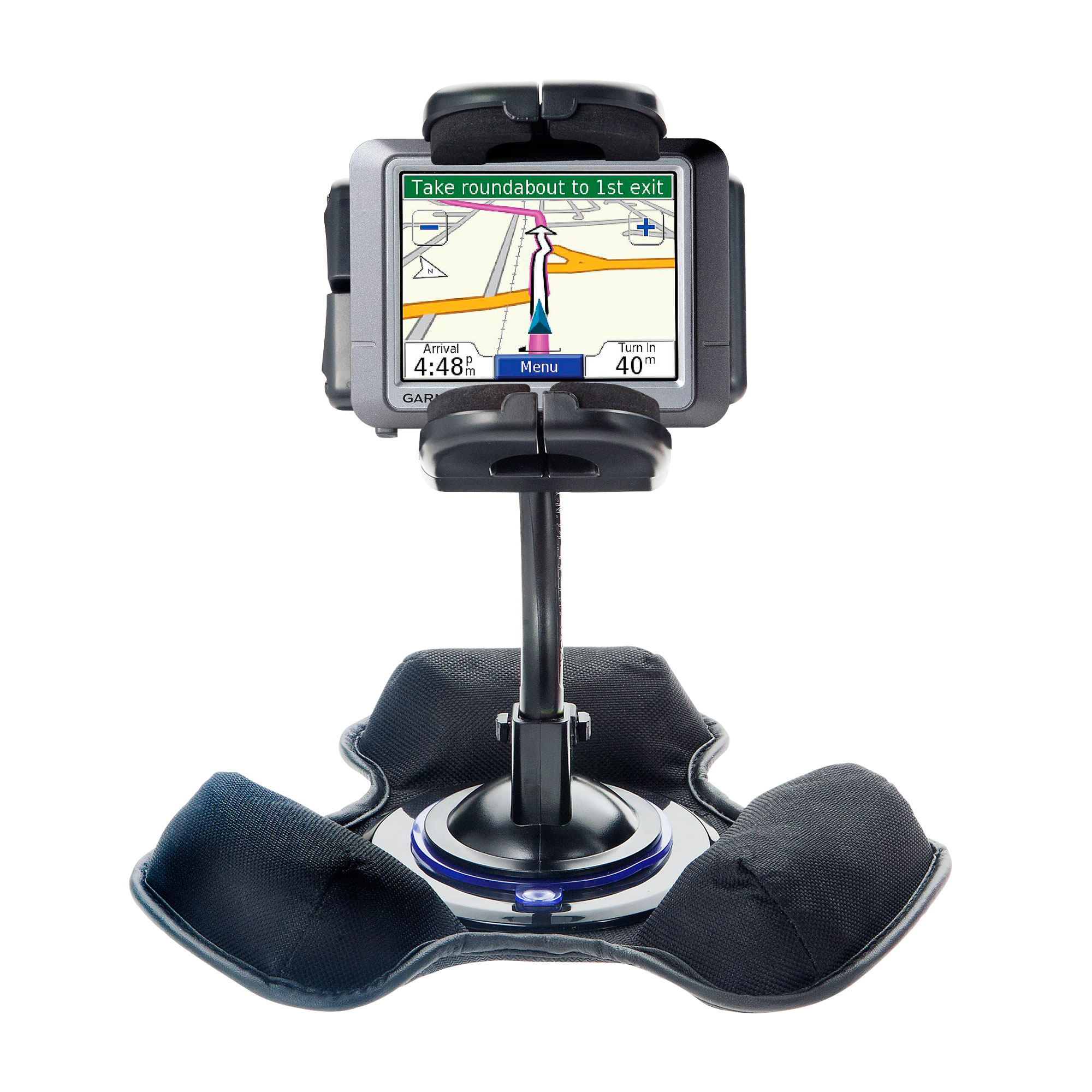 Dash and Windshield Holder compatible with the Garmin nuvi 255T