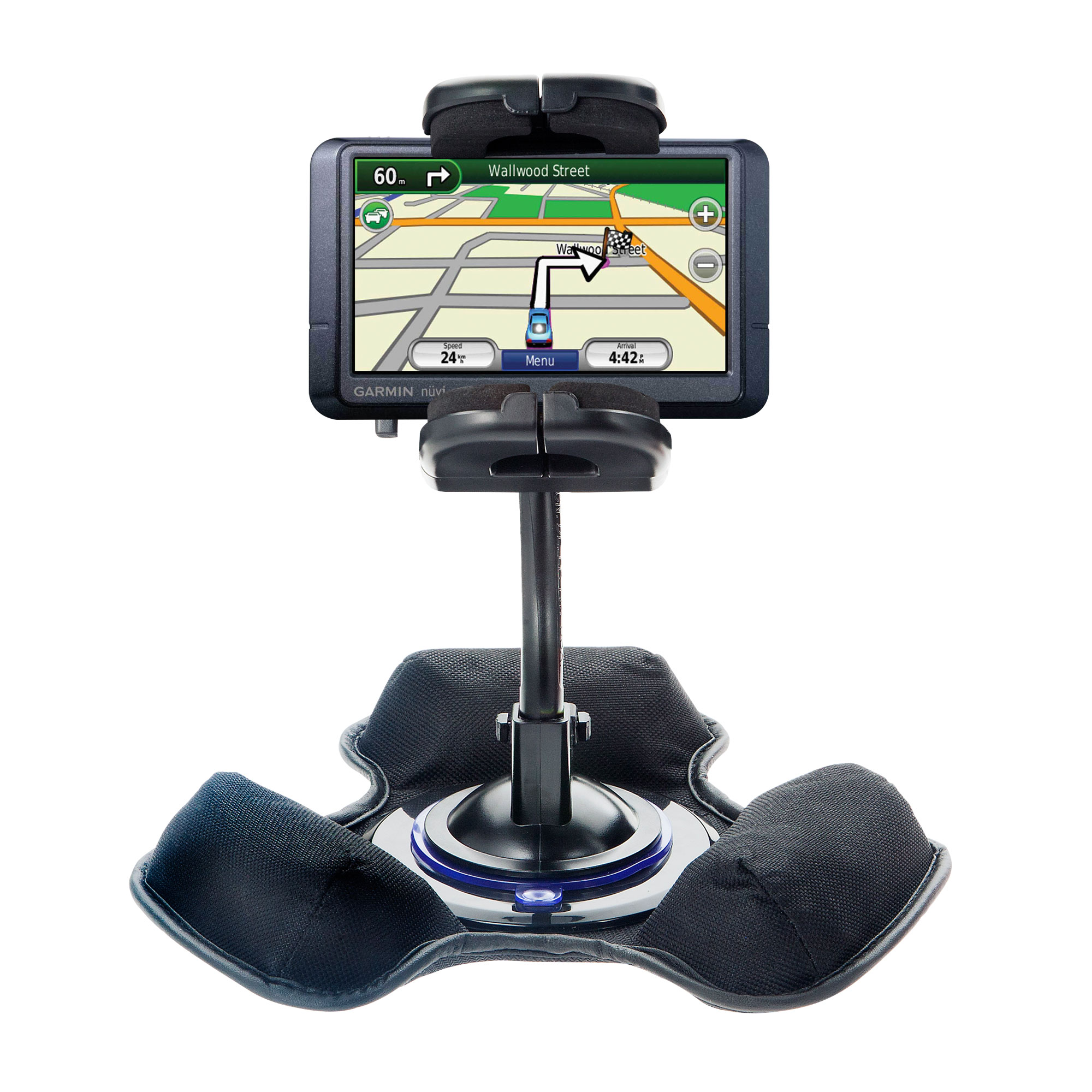 Dash and Windshield Holder compatible with the Garmin Nuvi 255W 255WT 255