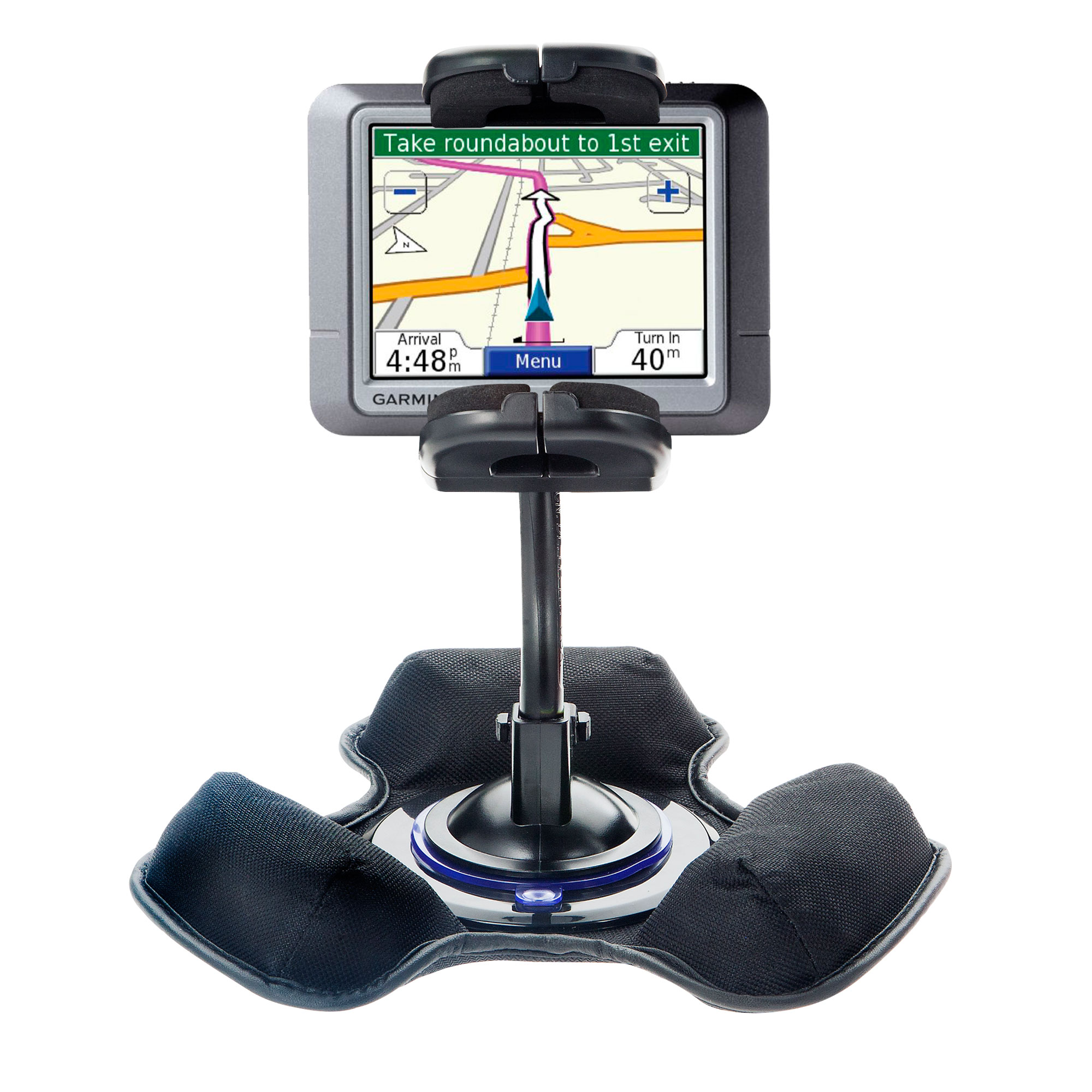 Dash and Windshield Holder compatible with the Garmin Nuvi 260W 260
