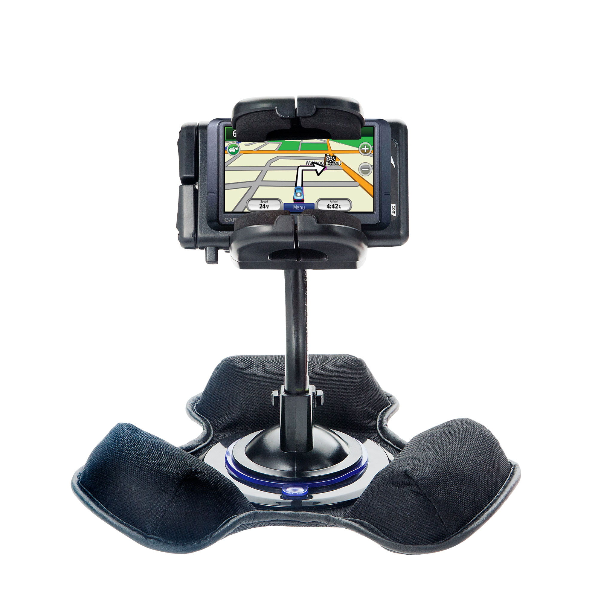 Dash and Windshield Holder compatible with the Garmin Nuvi 265T