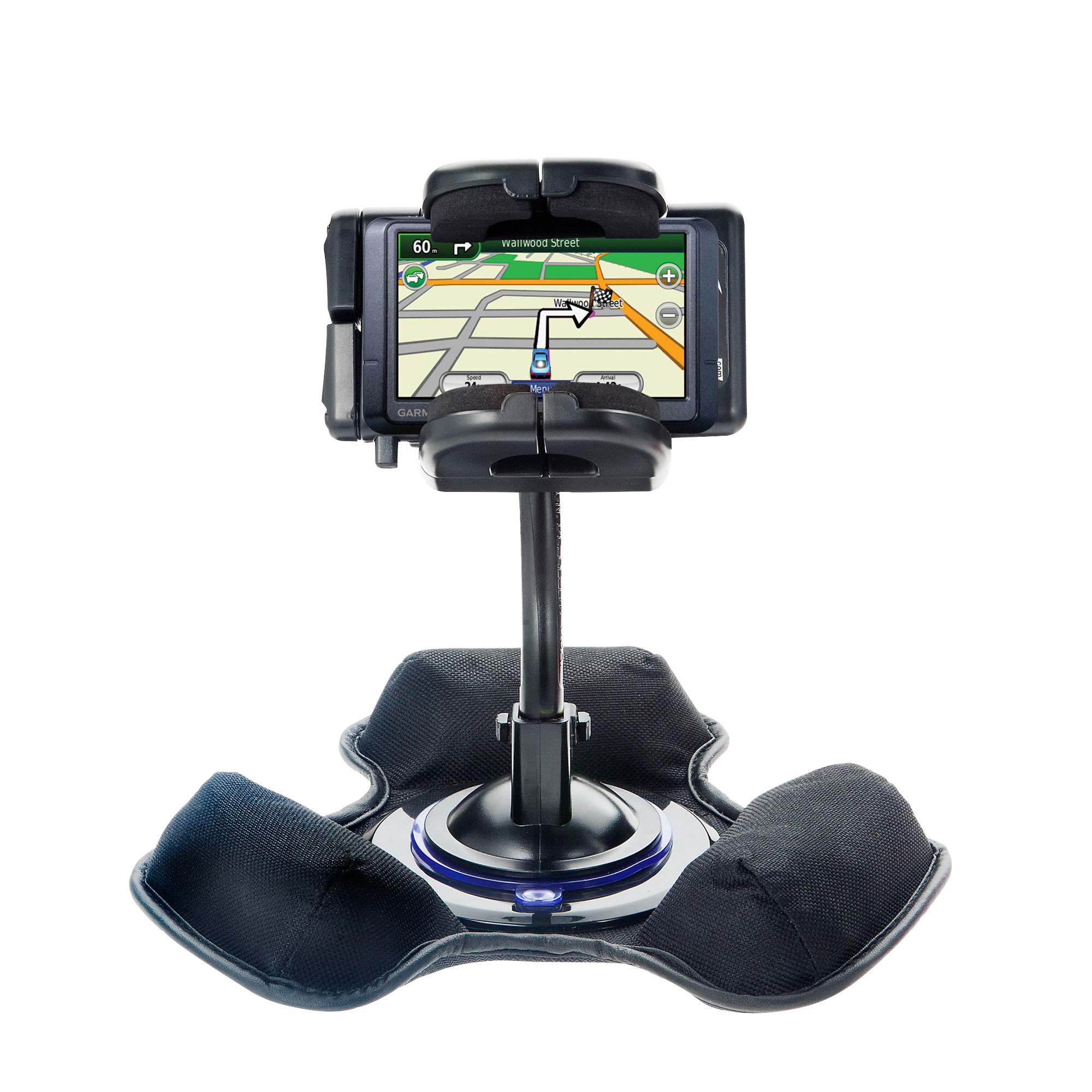 Dash and Windshield Holder compatible with the Garmin Nuvi 265WT 265T