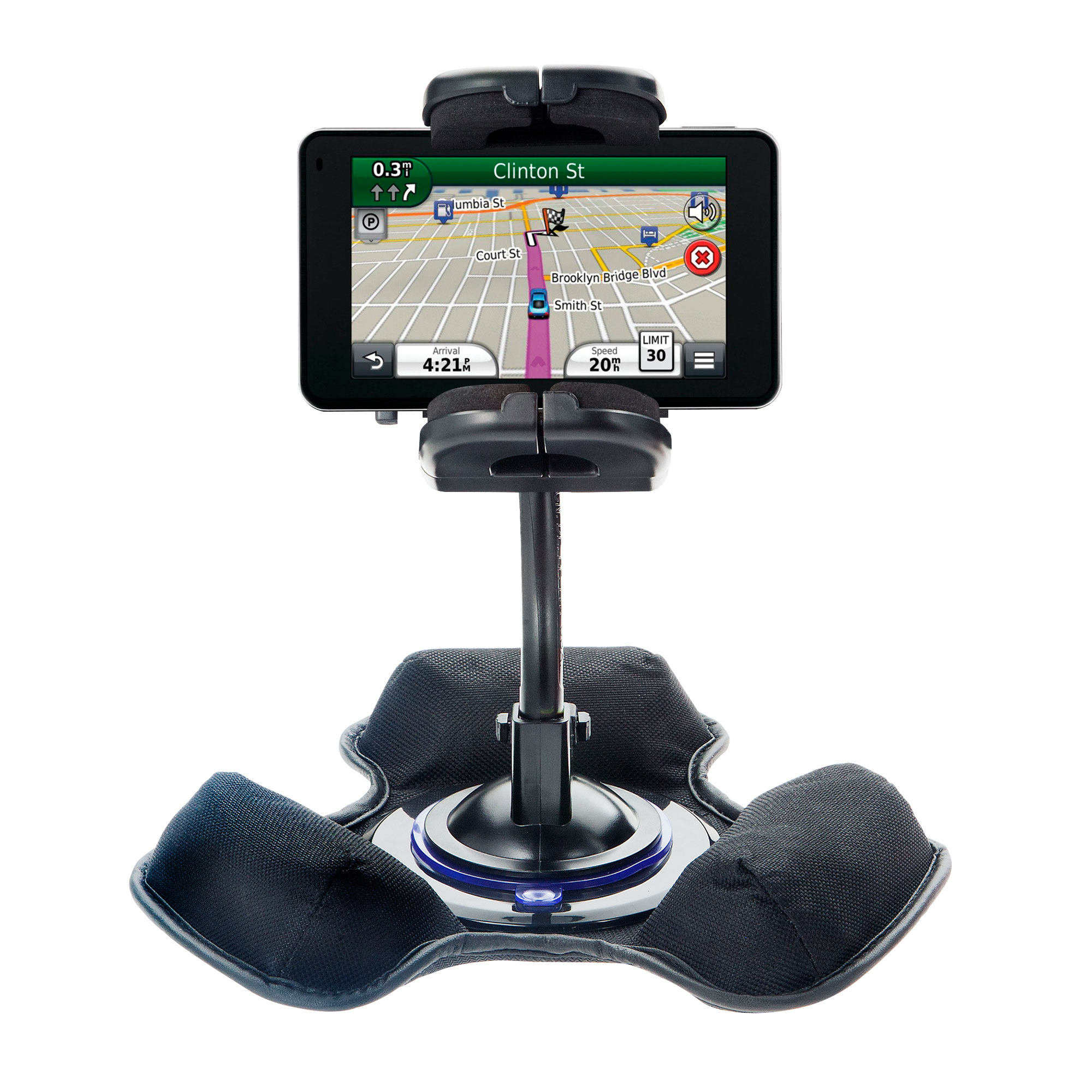 Dash and Windshield Holder compatible with the Garmin Nuvi 3490