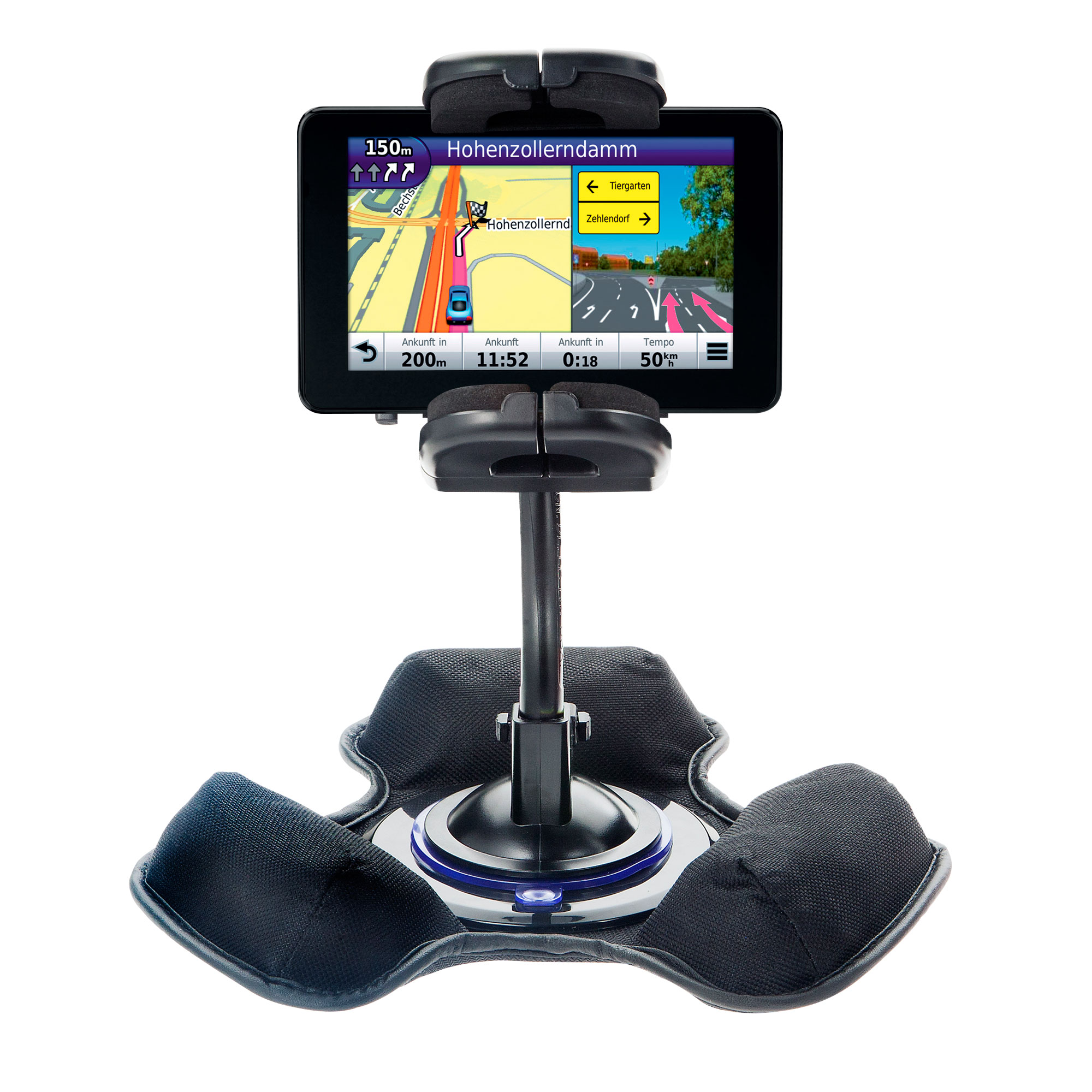 Dash and Windshield Holder compatible with the Garmin Nuvi 3550