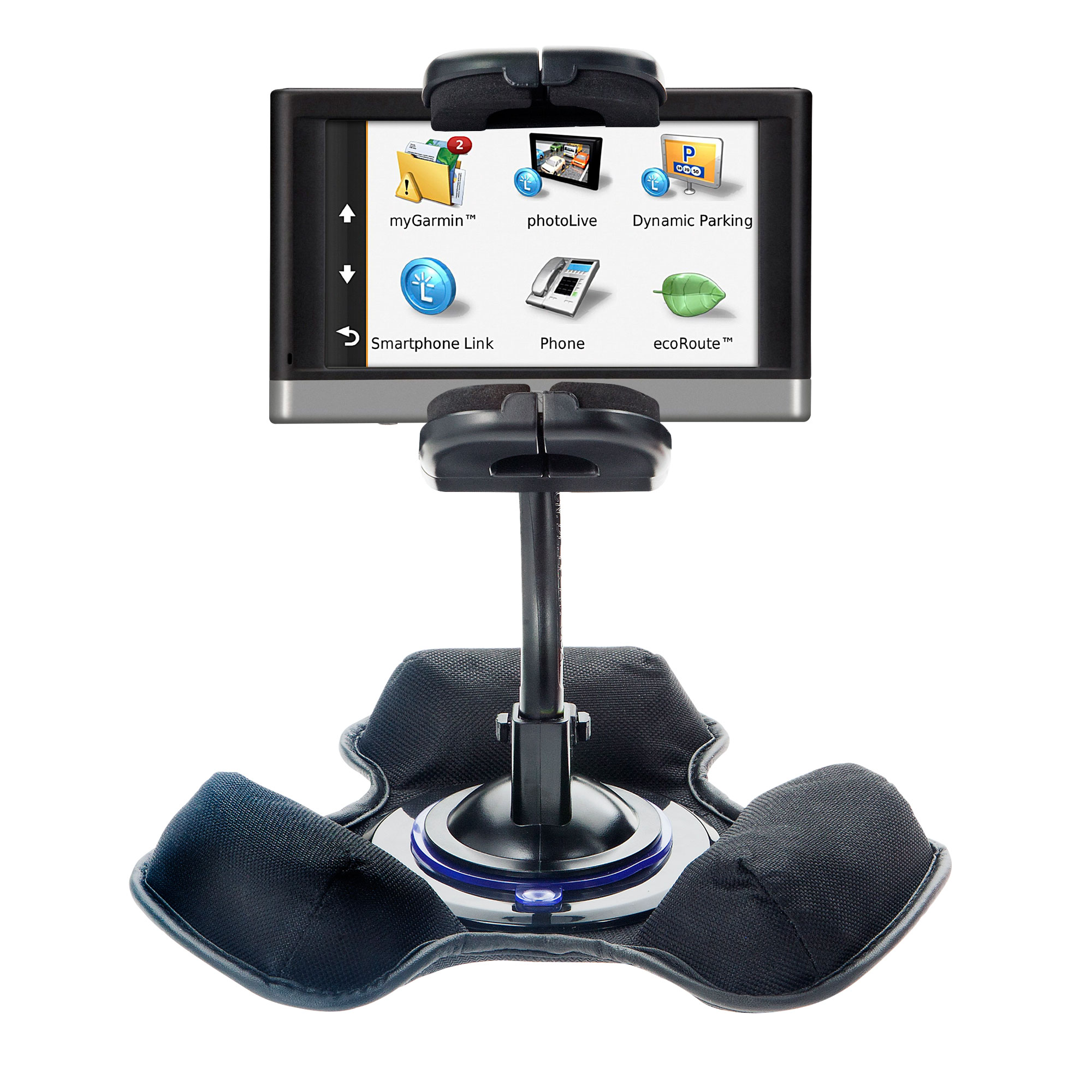 Dash and Windshield Holder compatible with the Garmin nuvi 3597 LMTHD